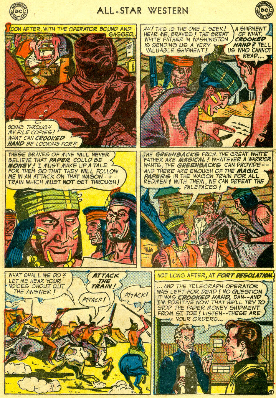 Read online All-Star Western (1951) comic -  Issue #78 - 20