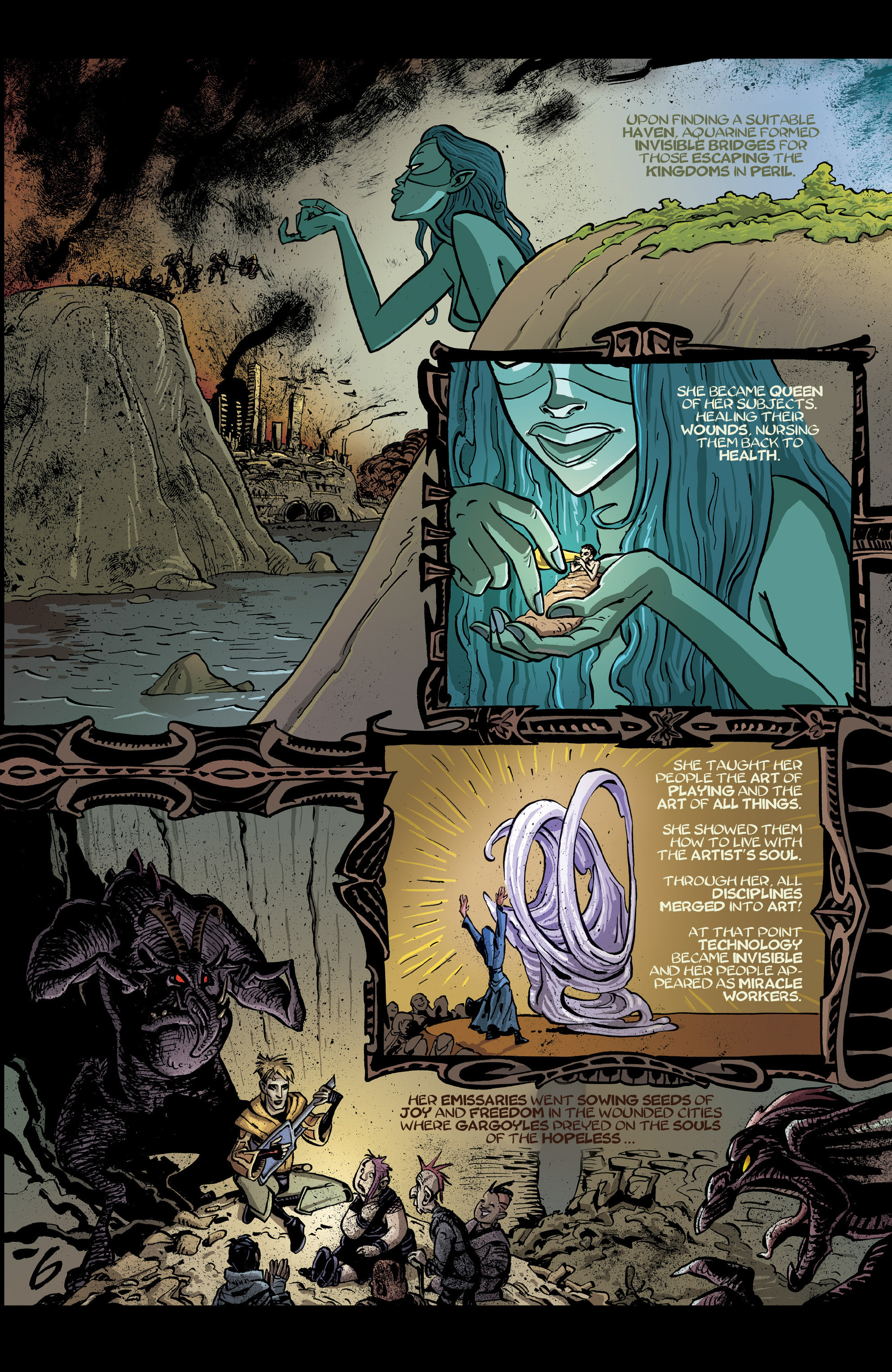 Read online 8House comic -  Issue #5 - 28