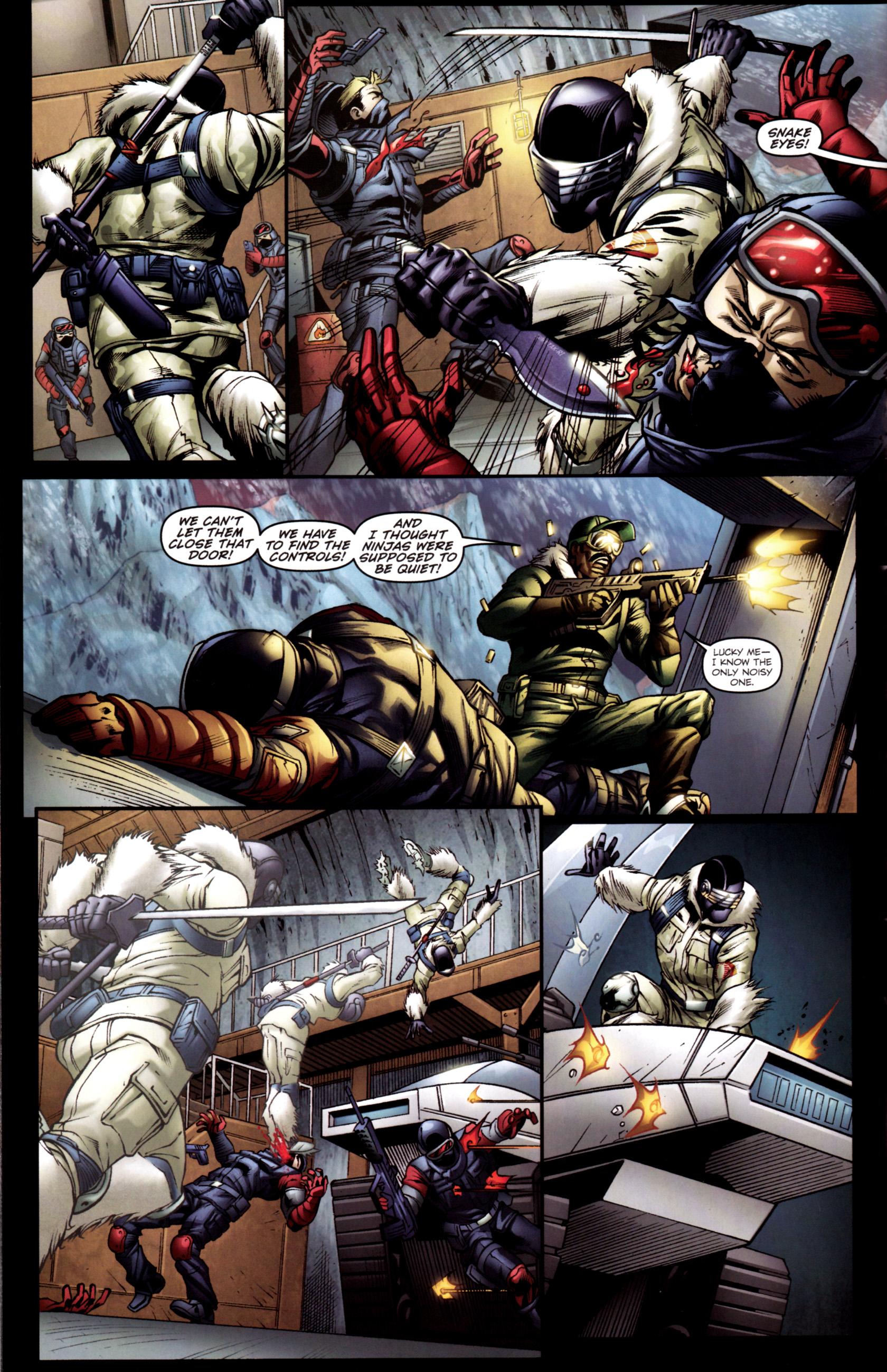 Read online G.I. Joe: Snake Eyes comic -  Issue #2 - 7