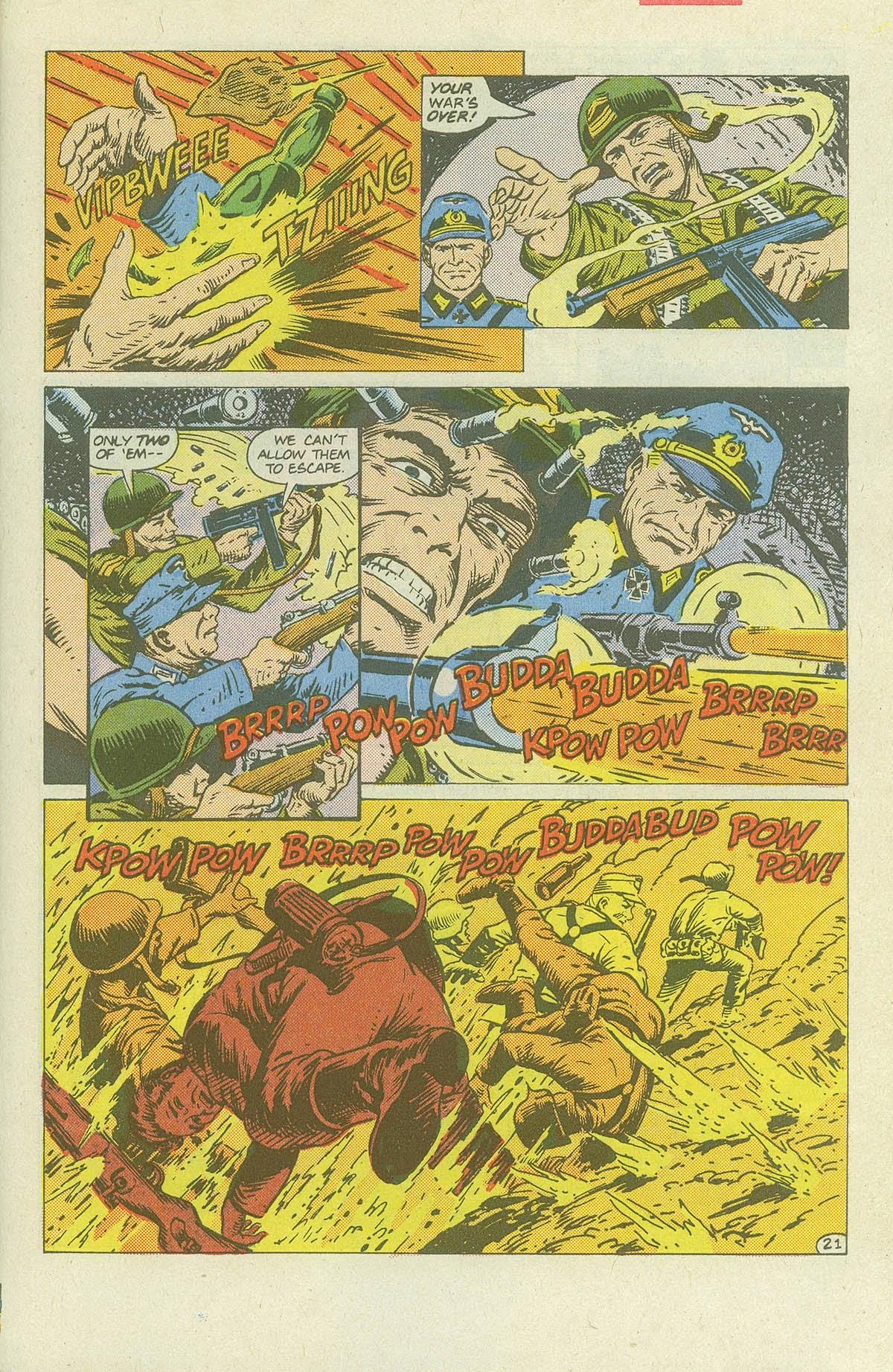 Read online Sgt. Rock comic -  Issue #420 - 30