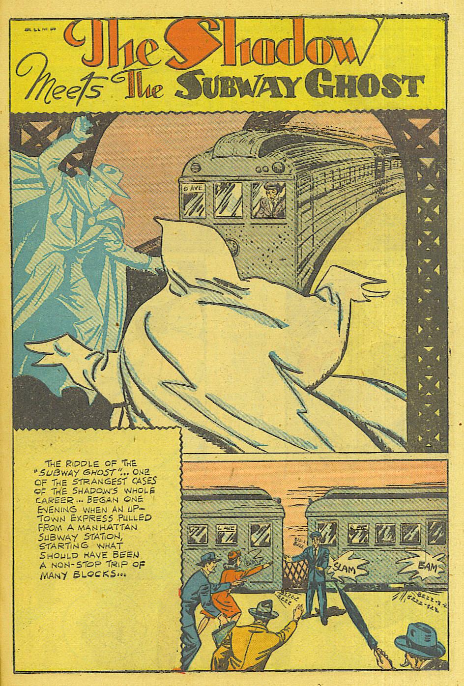 Read online Shadow Comics comic -  Issue #71 - 38