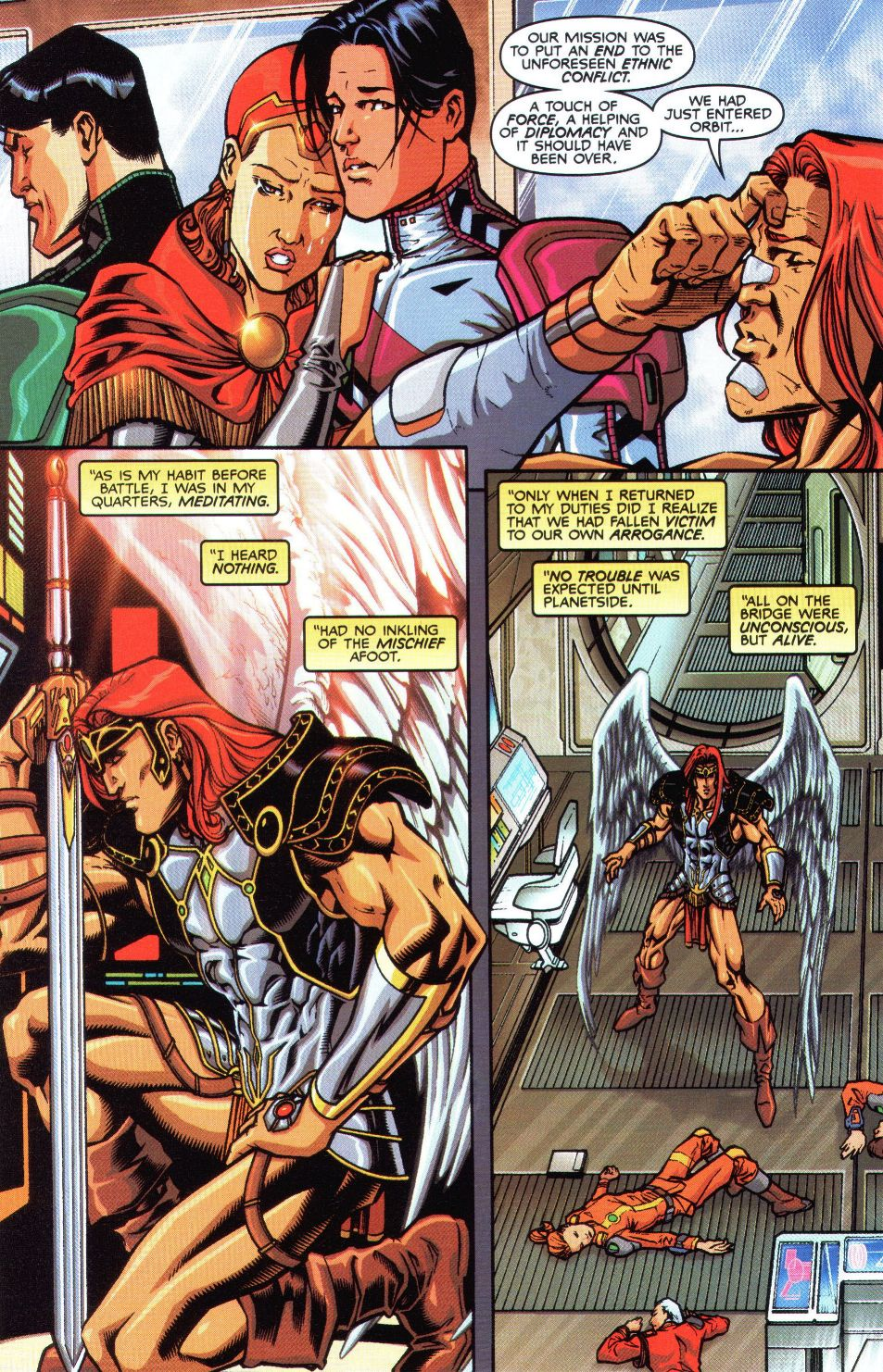 Read online Spaceknights (2000) comic -  Issue #1 - 14