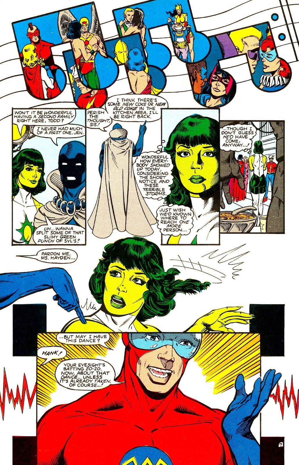 Infinity Inc. (1984) issue 21 - Page 9