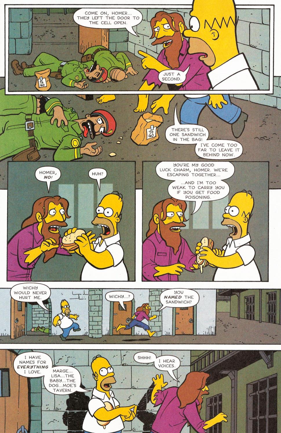 Read online Simpsons Comics comic -  Issue #117 - 6