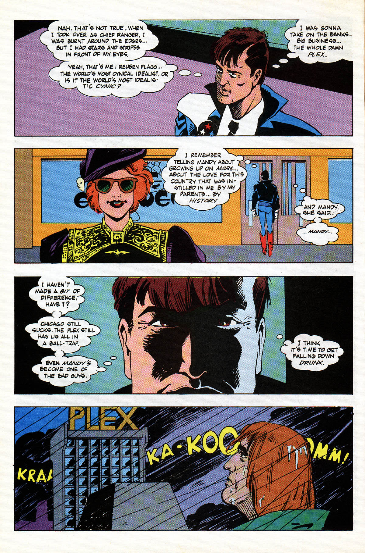 Read online American Flagg! comic -  Issue #38 - 10