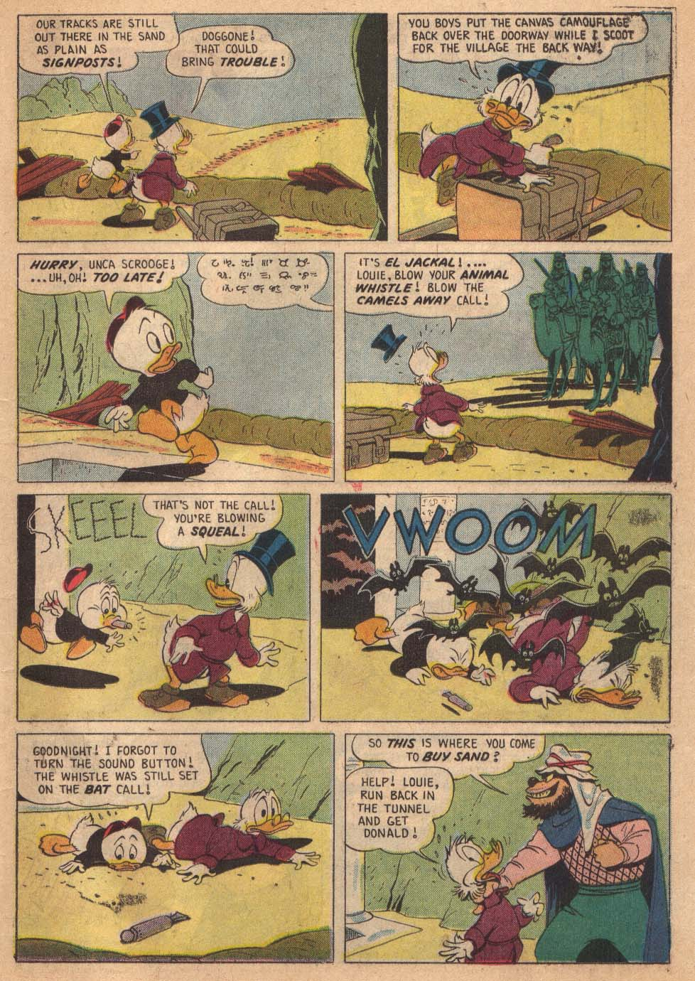 Read online Uncle Scrooge (1953) comic -  Issue #19 - 23