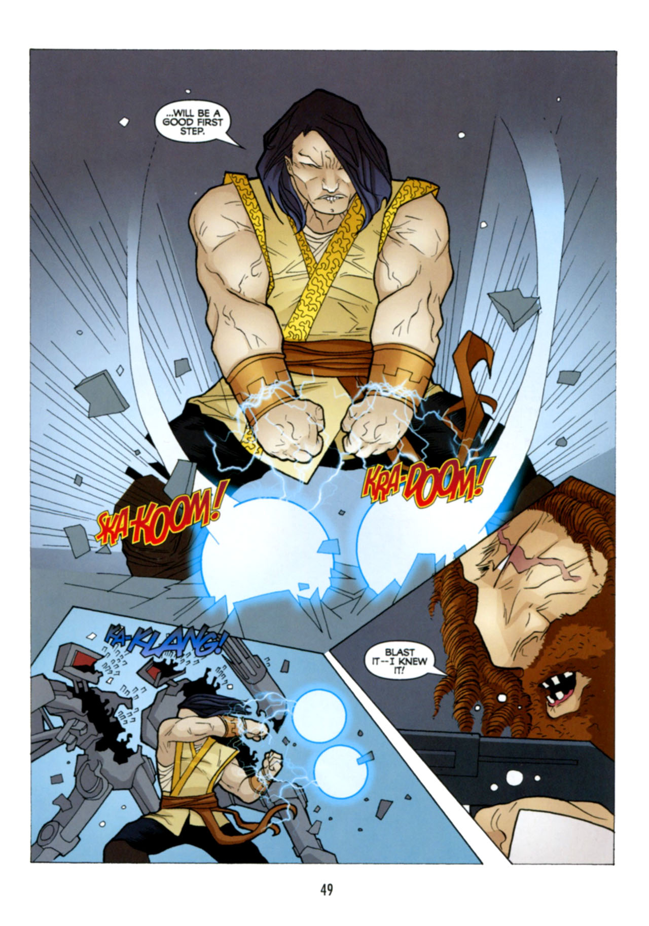 Read online Star Wars: The Clone Wars - Deadly Hands of Shon-Ju comic -  Issue # Full - 50