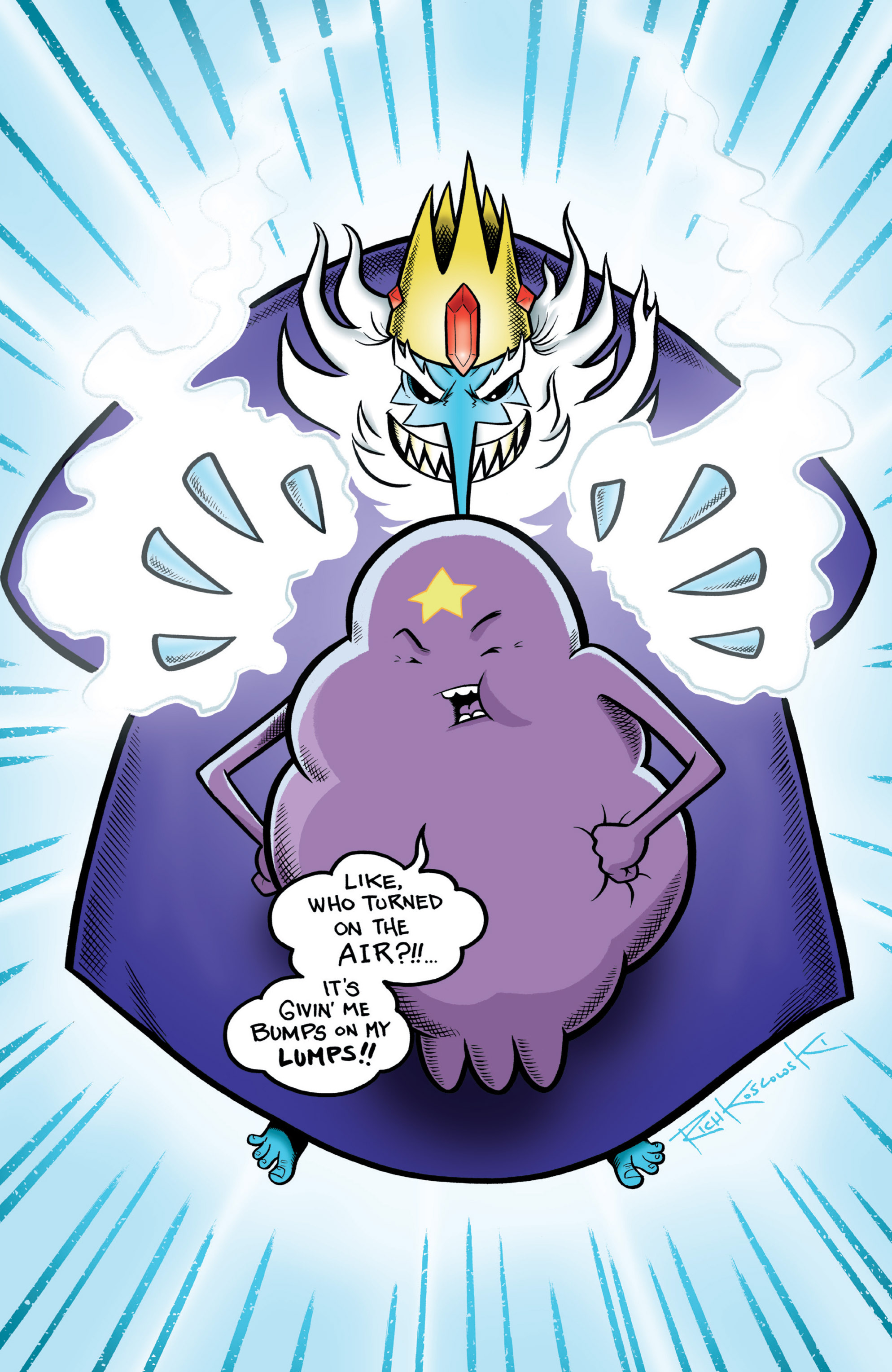 Read online Adventure Time comic -  Issue #11 - 5