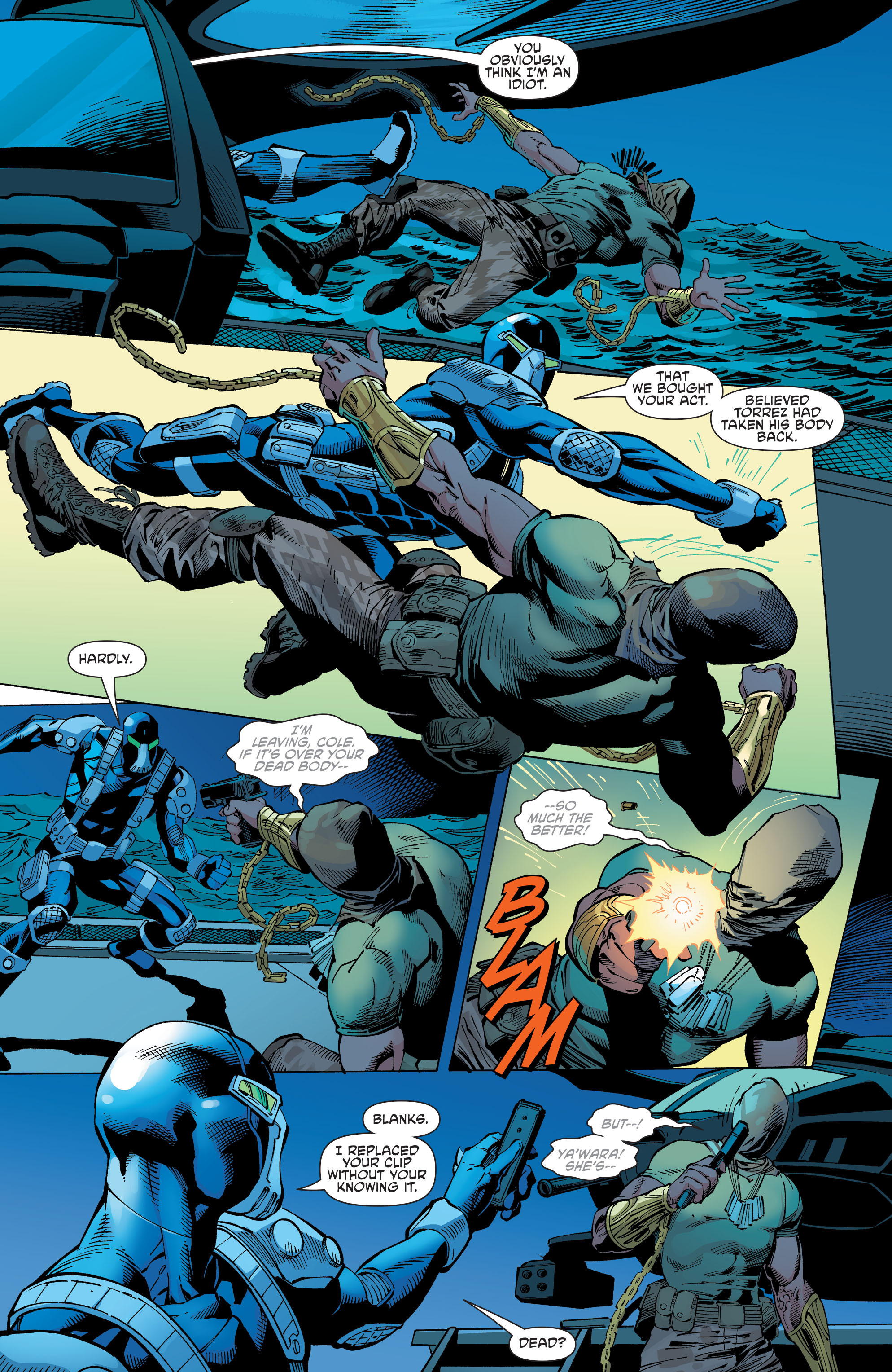 Read online Aquaman and the Others comic -  Issue #10 - 9