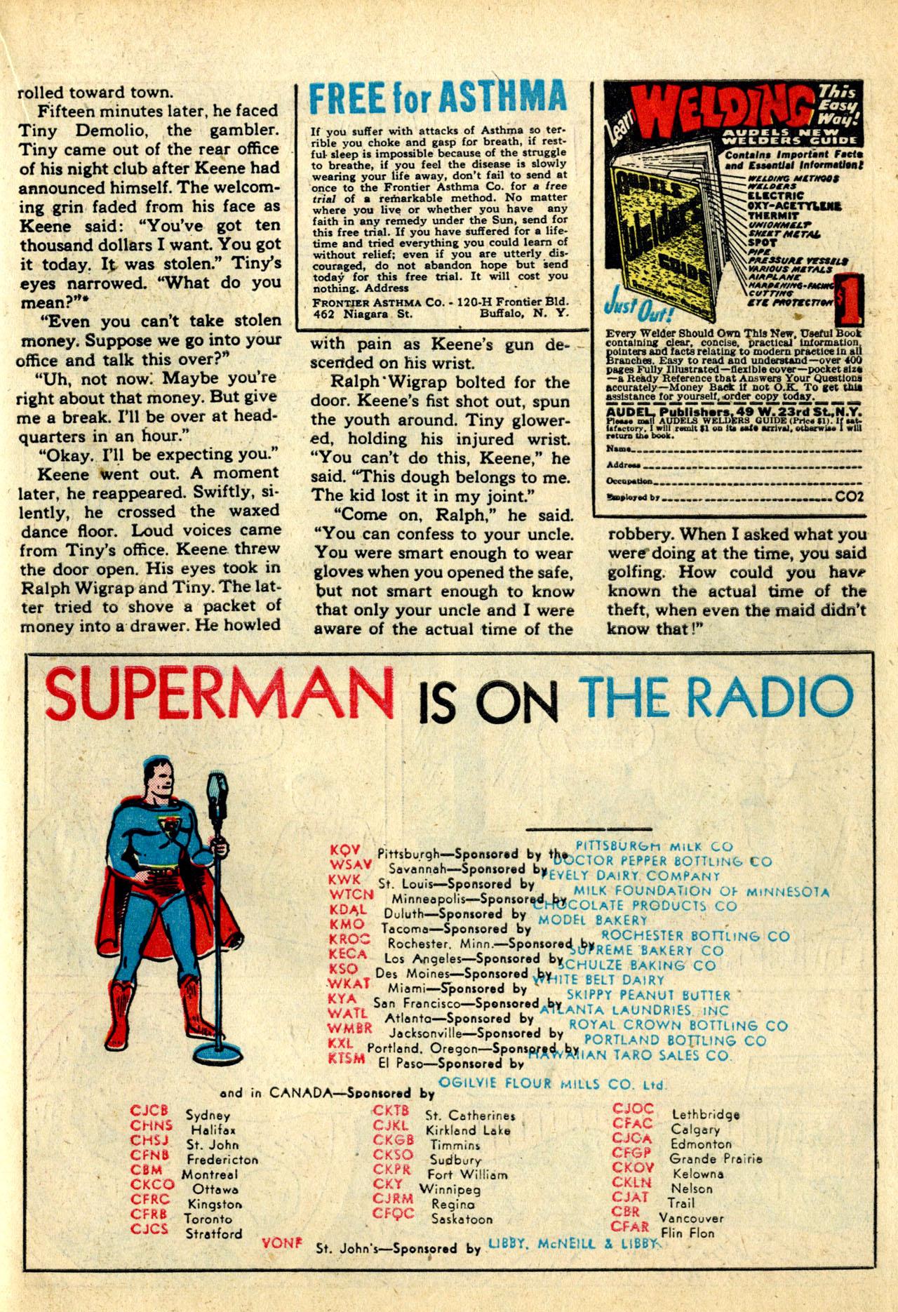 Read online Detective Comics (1937) comic -  Issue #50 - 51