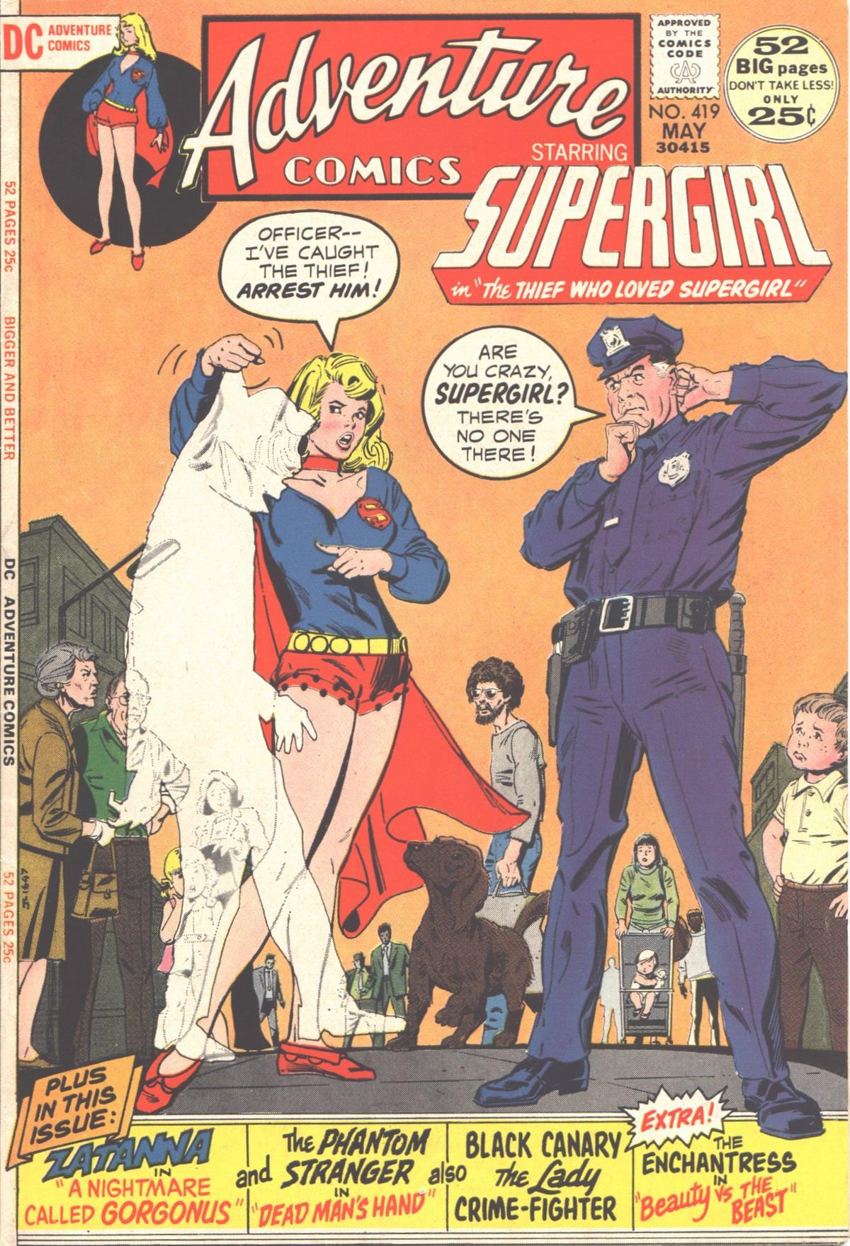 Read online Adventure Comics (1938) comic -  Issue #419 - 1