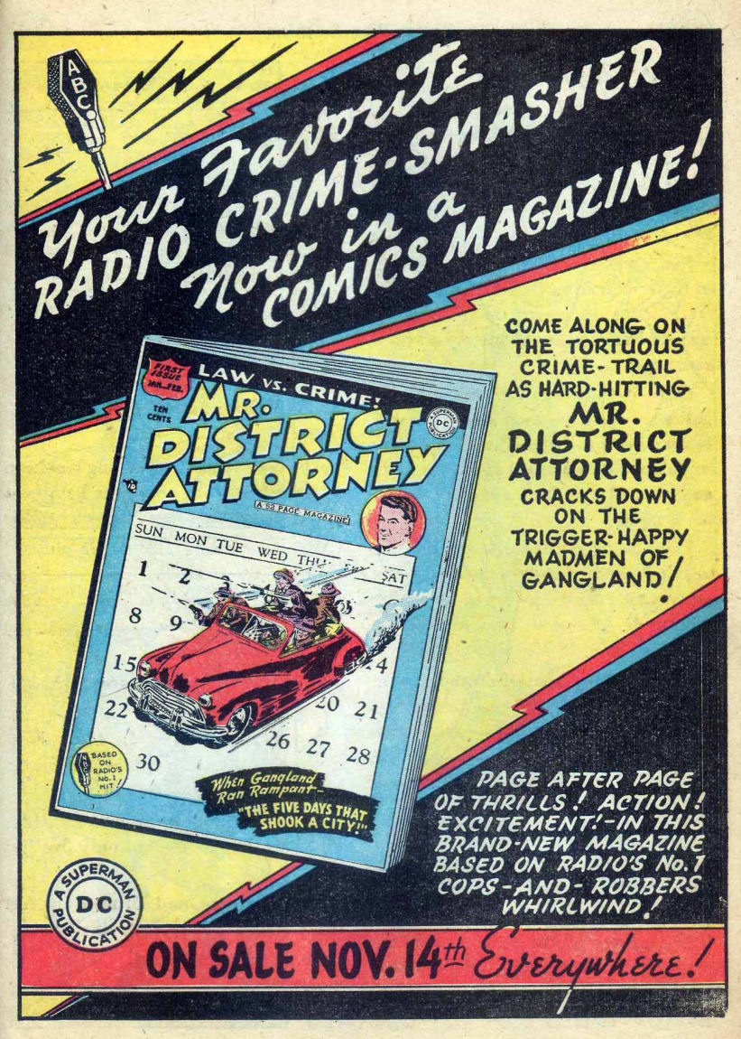 Read online Sensation (Mystery) Comics comic -  Issue #73 - 41