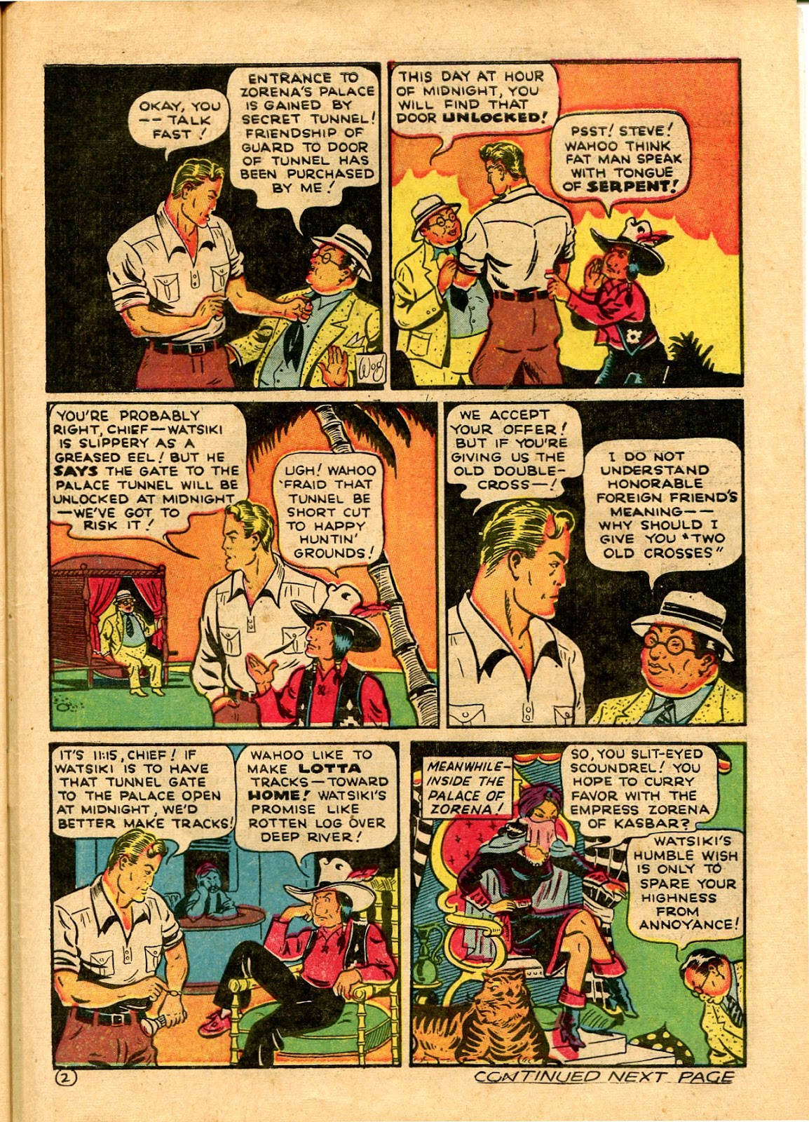 Read online Famous Funnies comic -  Issue #101 - 63