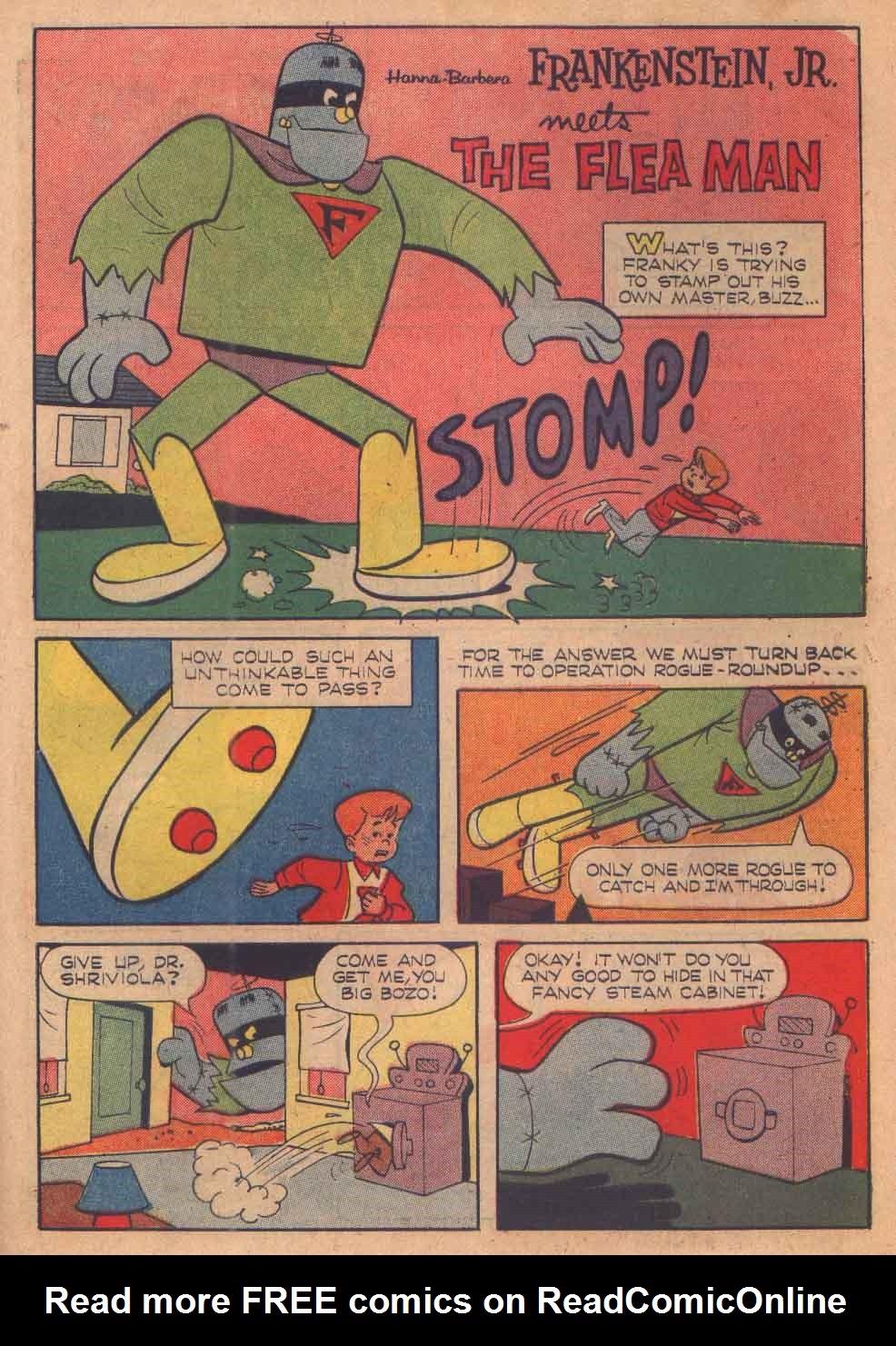 Read online Frankenstein, Jr. comic -  Issue # Full - 31