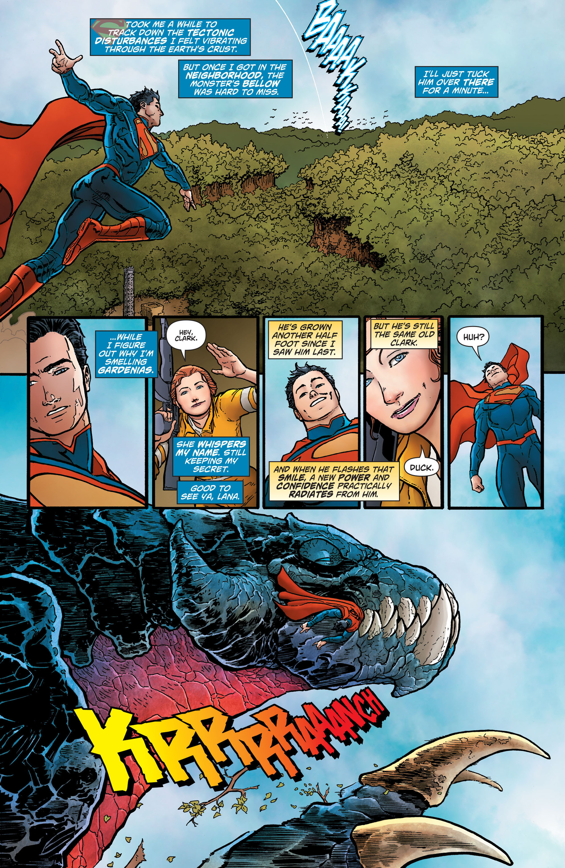 Read online Action Comics (2011) comic -  Issue #26 - 5