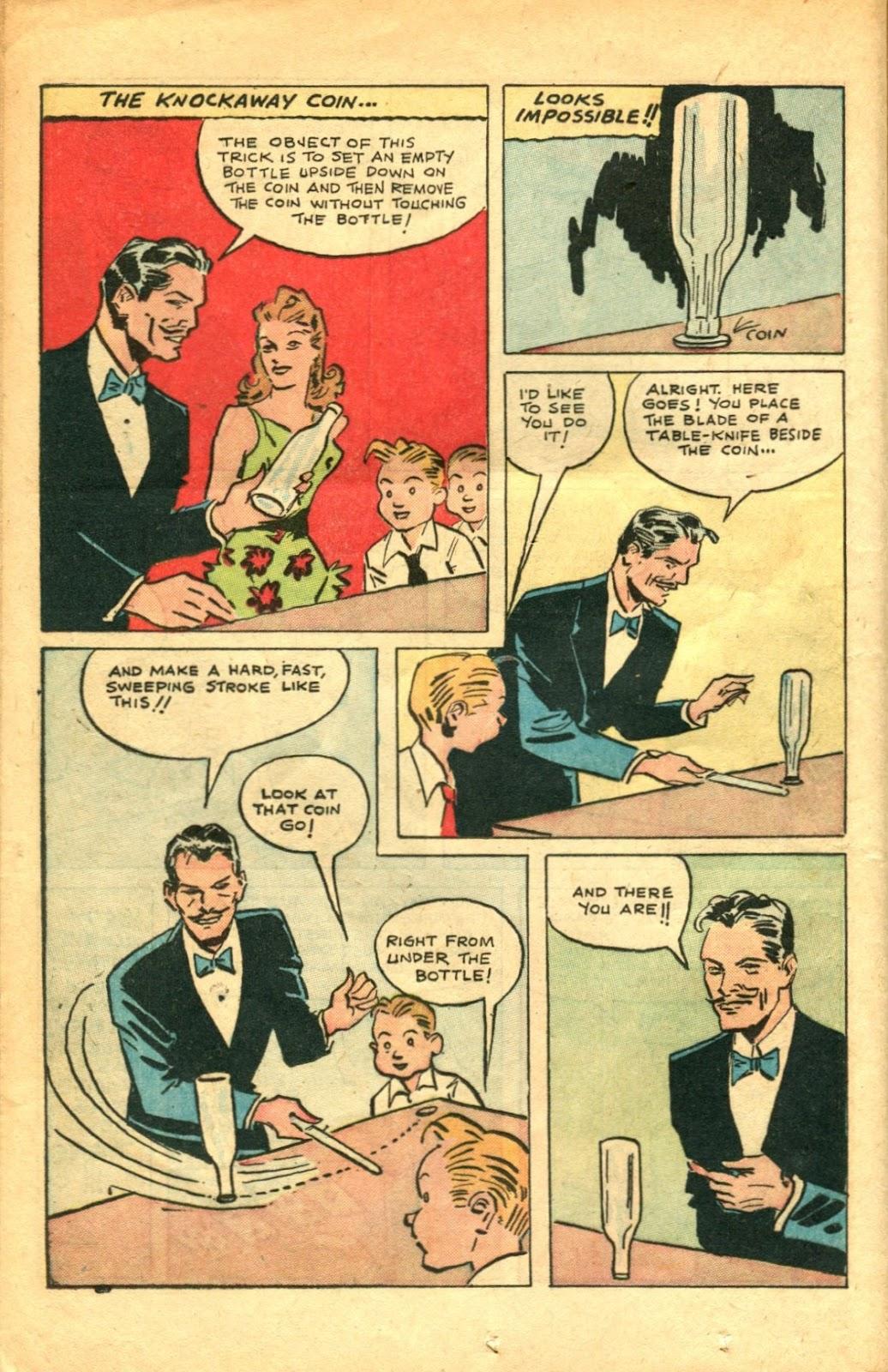 Read online Super-Magician Comics comic -  Issue #48 - 20