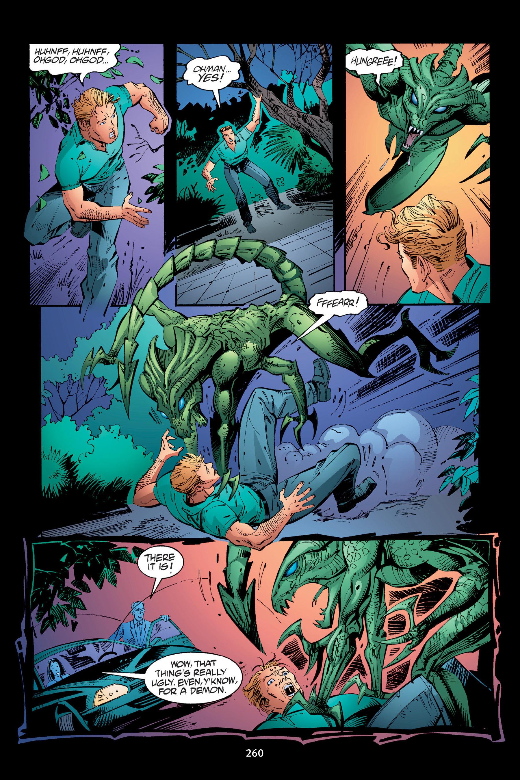 Read online Buffy the Vampire Slayer: Omnibus comic -  Issue # TPB 4 - 258