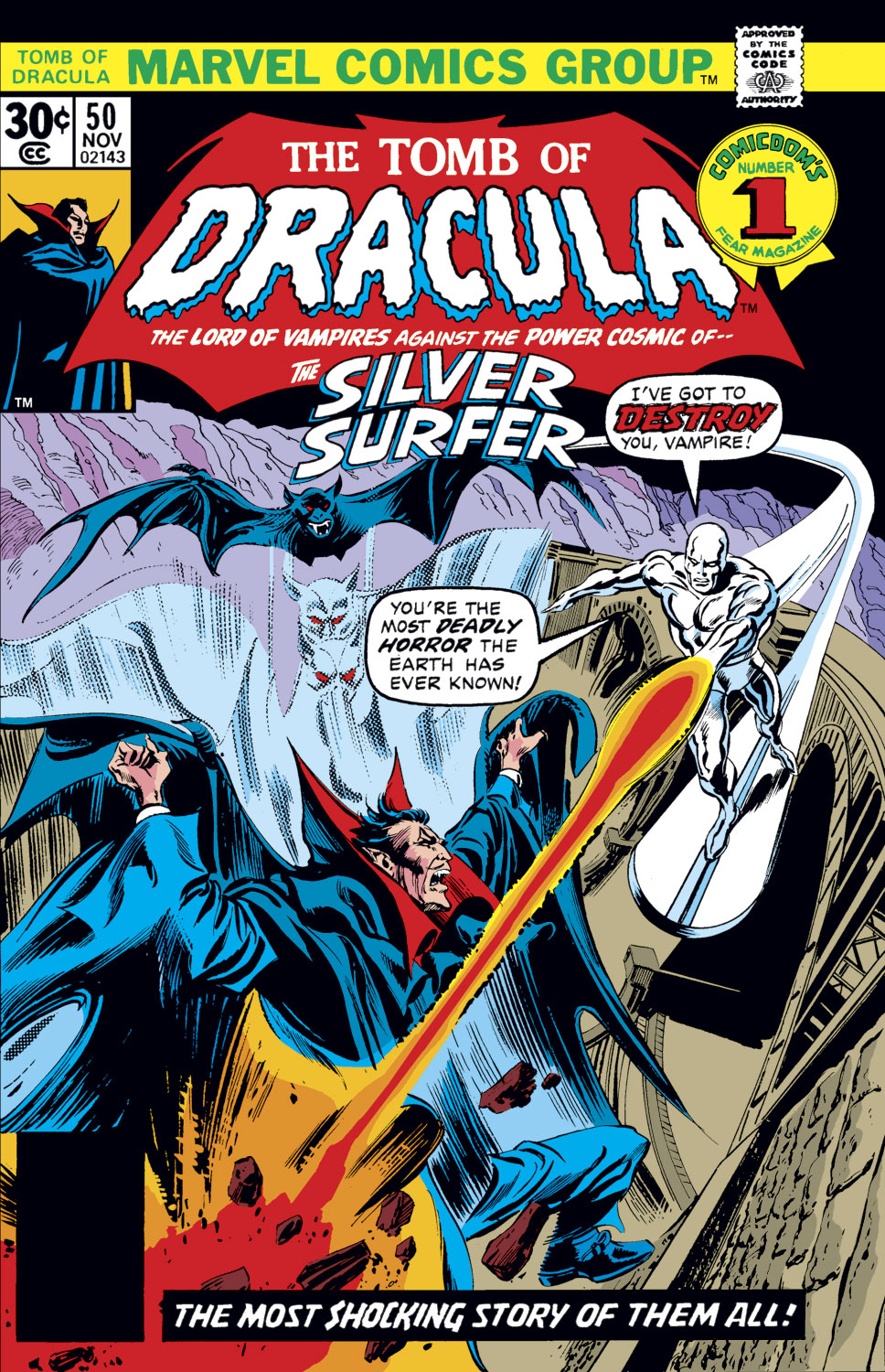 Tomb of Dracula (1972) issue 50 - Page 1