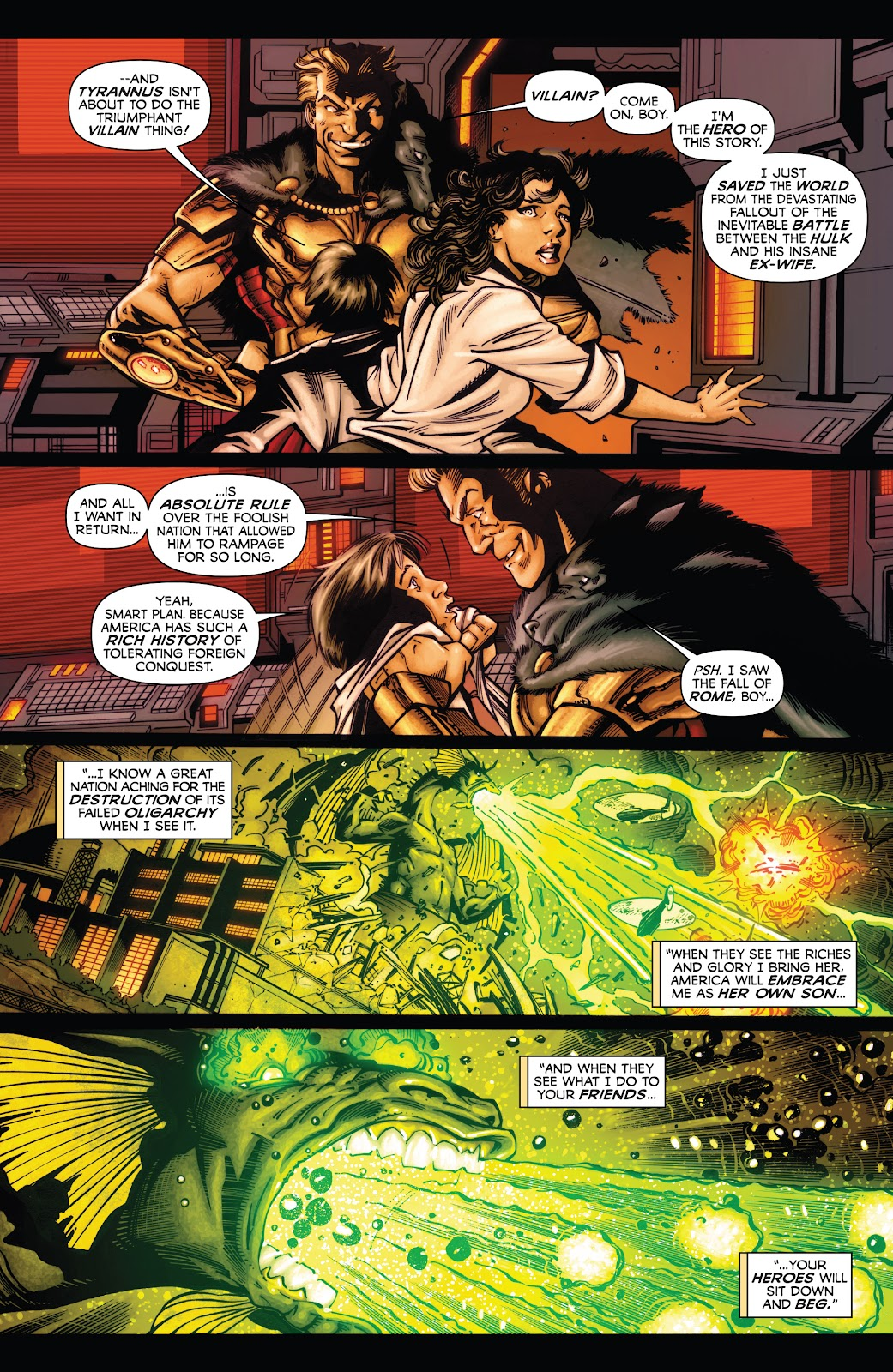 Read online Incredible Hulks (2010) comic -  Issue # _TPB Heart of the Monster - 114