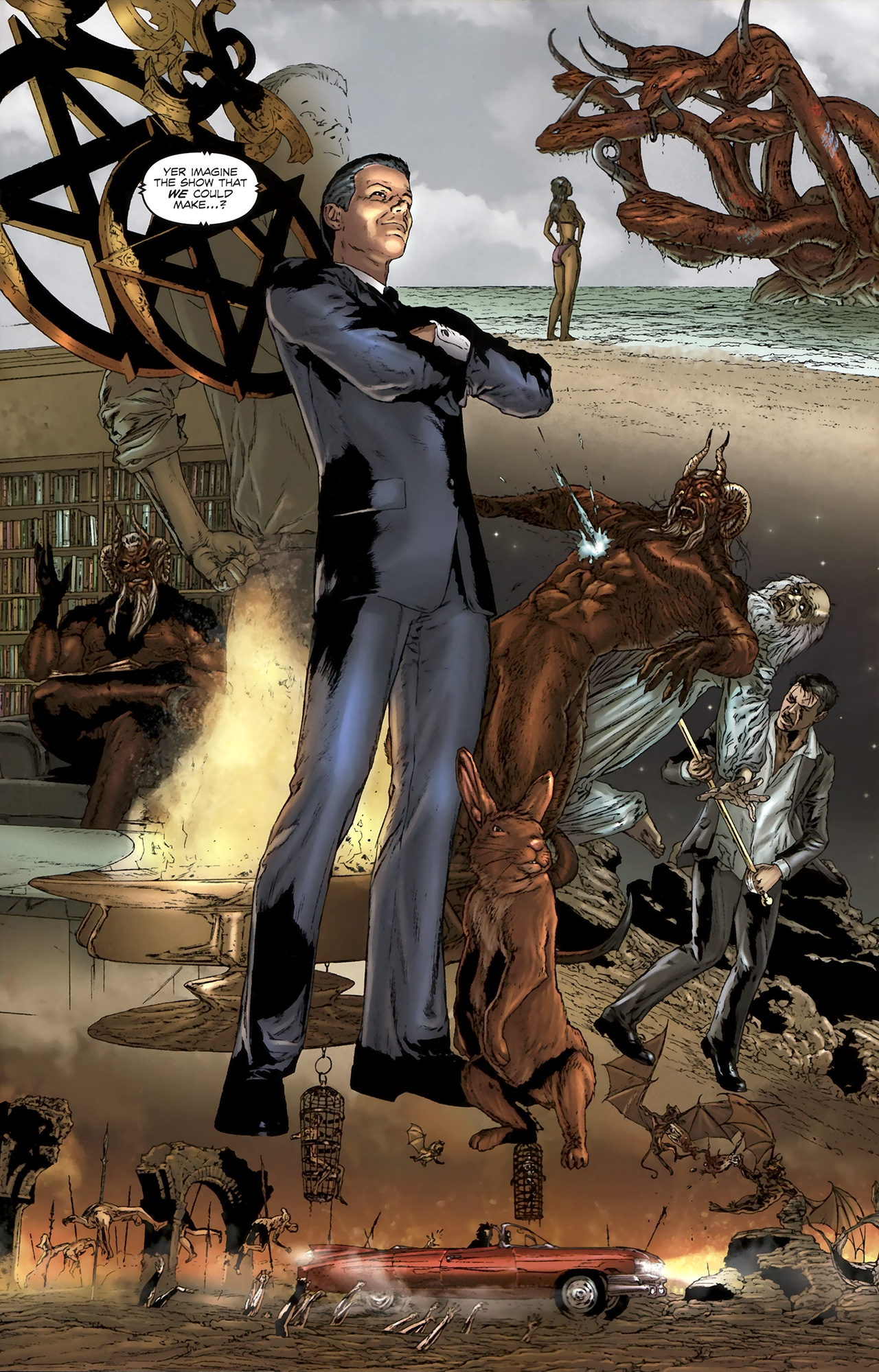 Read online Chronicles of Wormwood: The Last Battle comic -  Issue #5 - 16