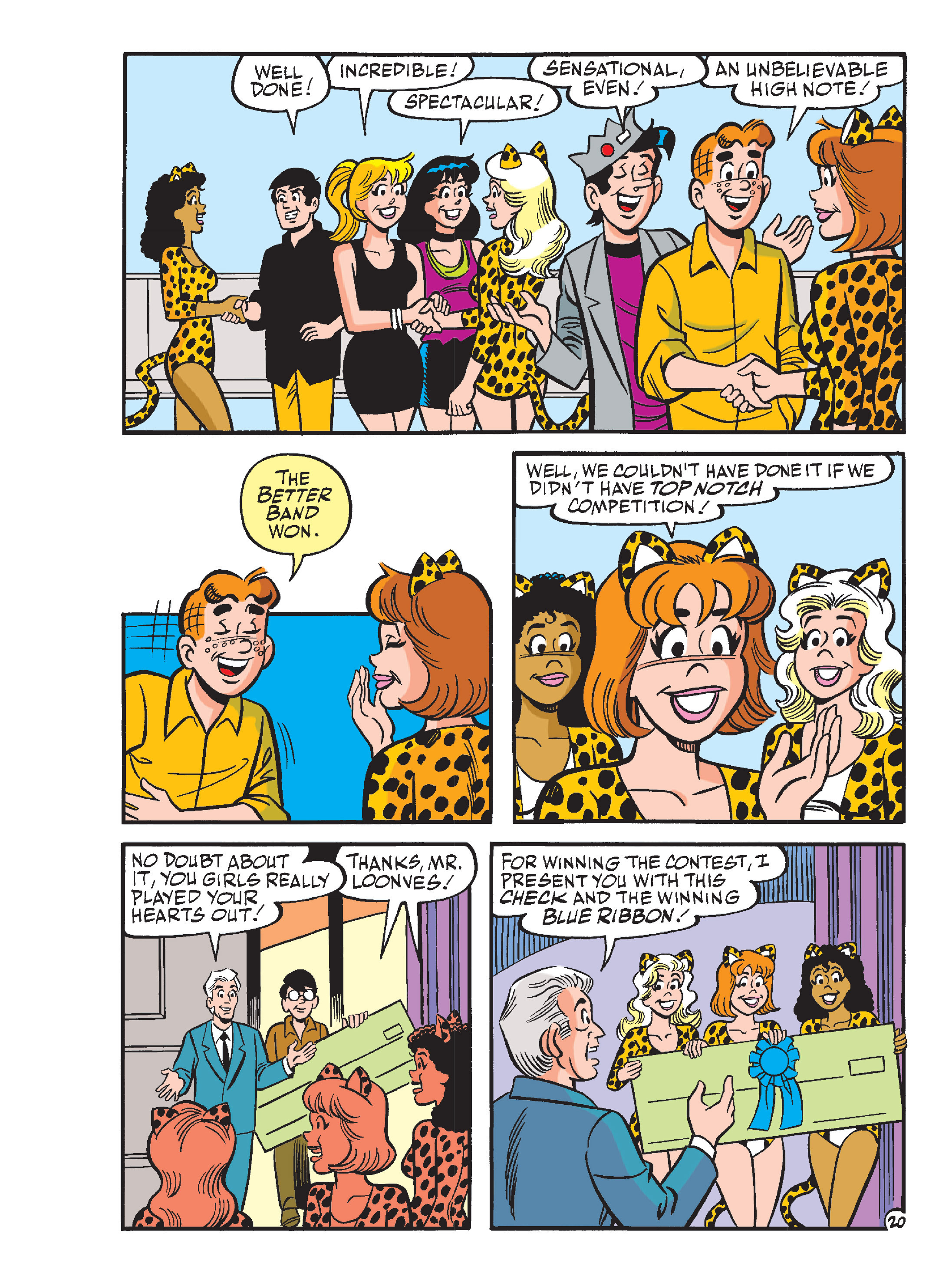 Read online Archie's Funhouse Double Digest comic -  Issue #13 - 55