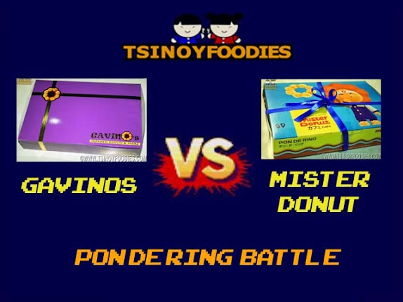 Gavino's Japanese Donuts and More vs Mister Donut Cafe: Pon De Ring