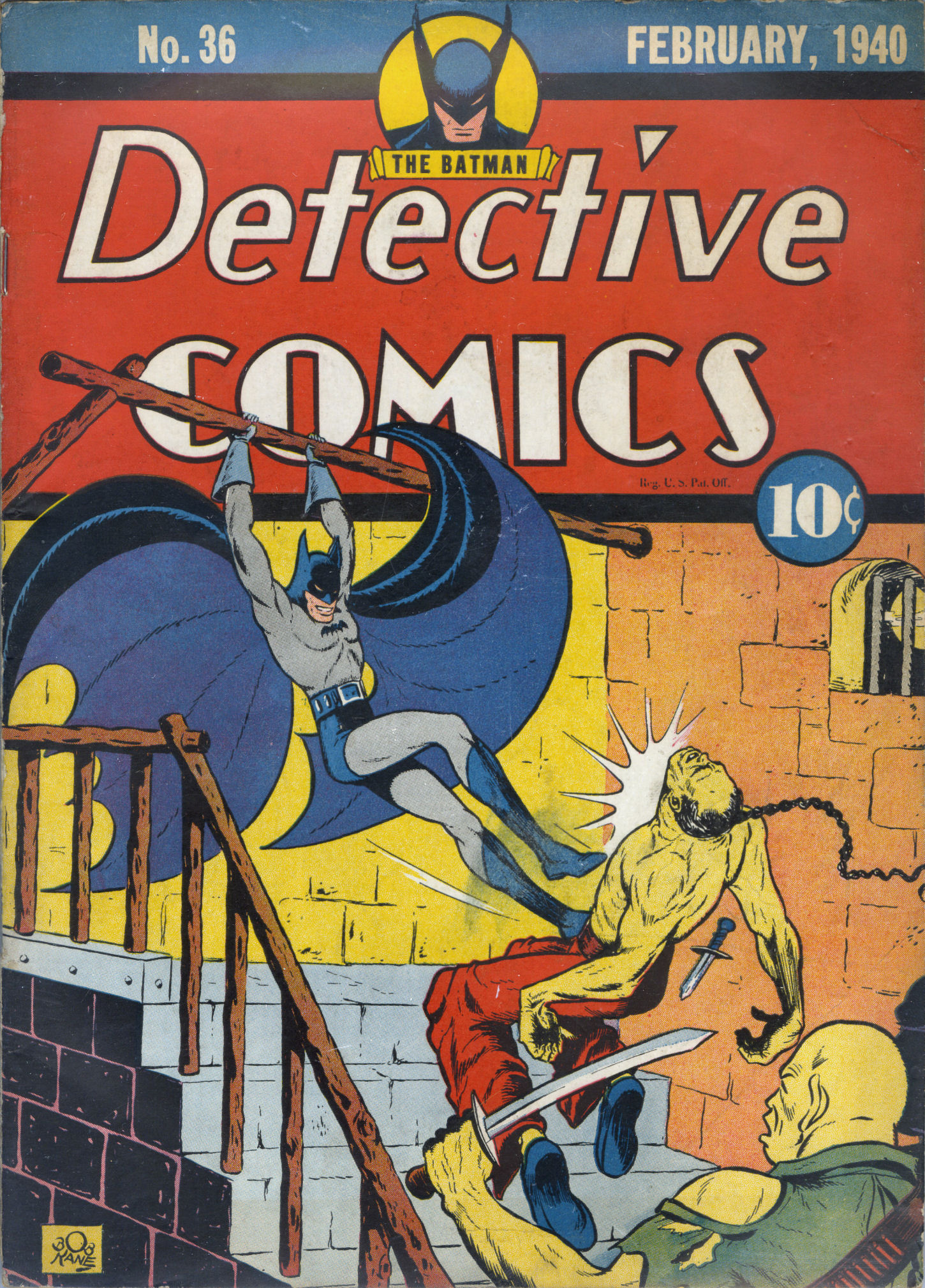 Read online Detective Comics (1937) comic -  Issue #36 - 2