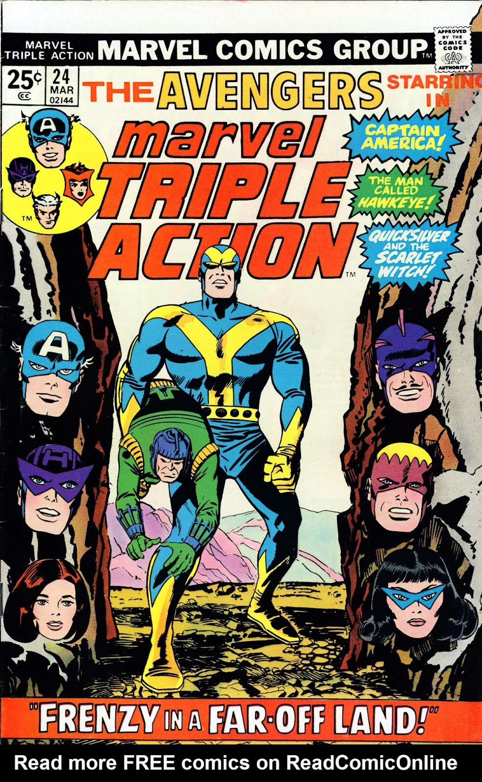 Marvel Triple Action (1972) issue 24 - Page 1