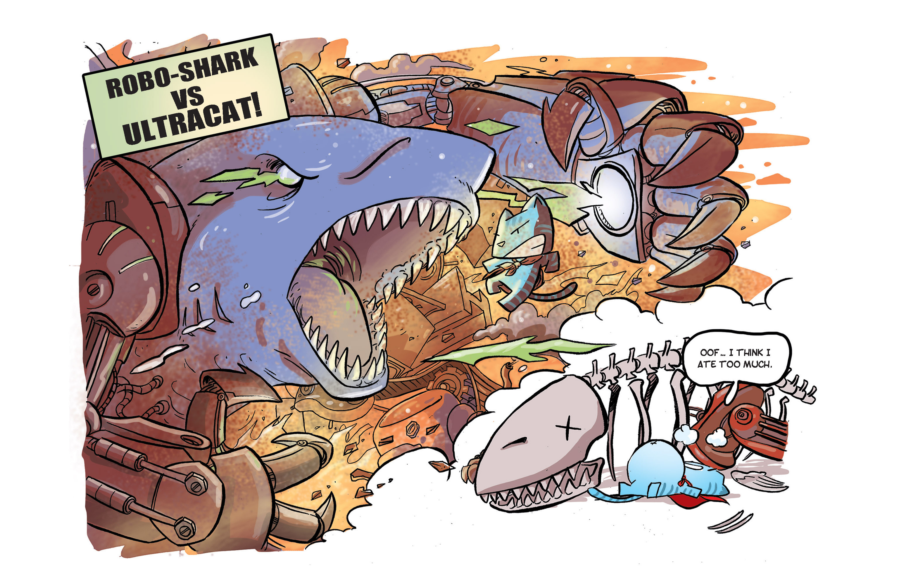 Read online Ultracat comic -  Issue #2 - 7