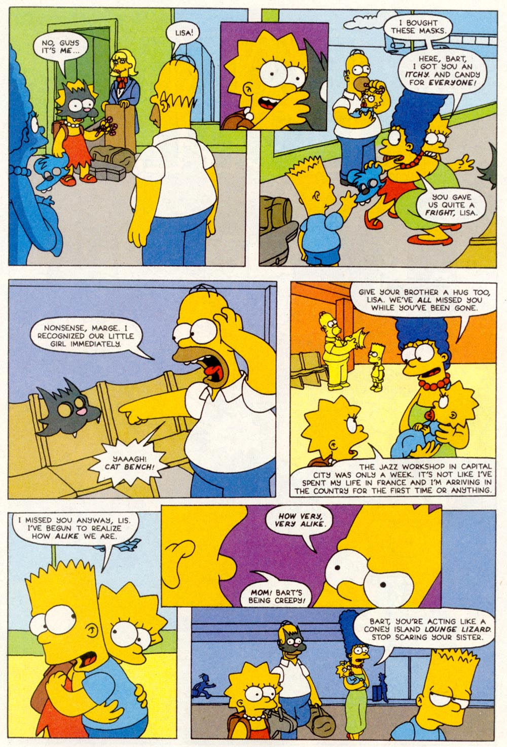 Read online Treehouse of Horror comic -  Issue #1 - 34