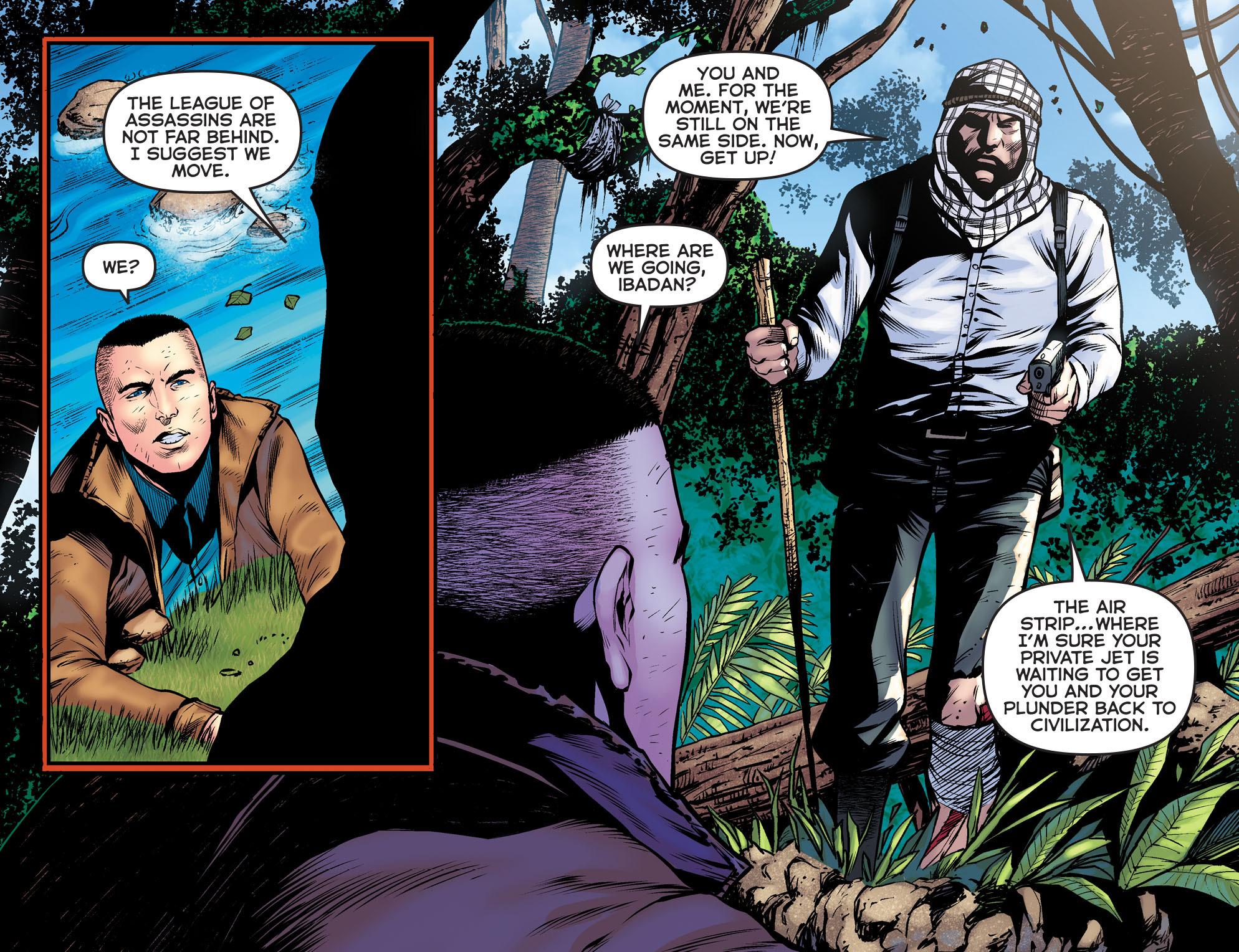 Read online Arrow: The Dark Archer comic -  Issue #9 - 5