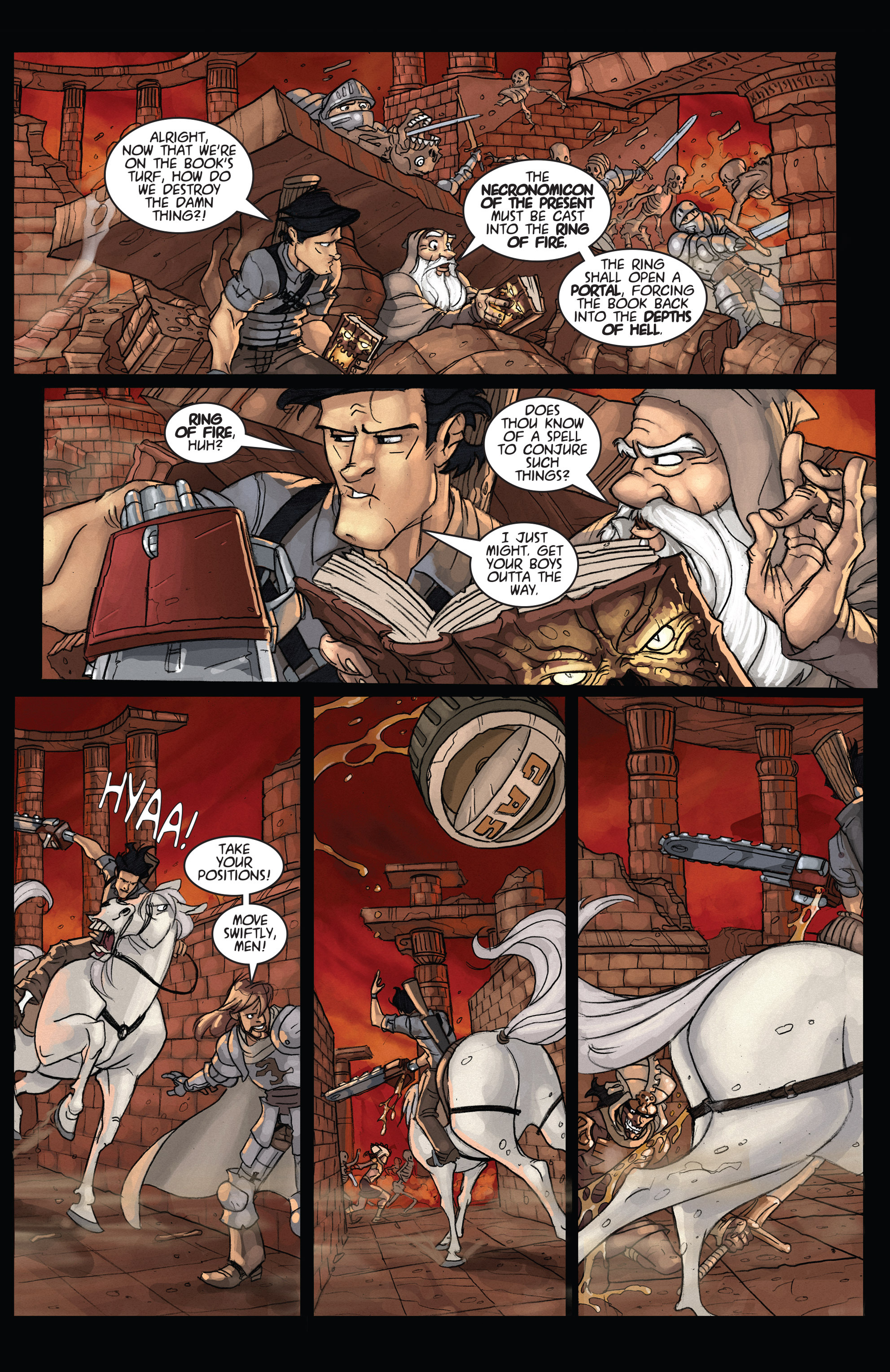 Read online Army of Darkness: Ashes 2 Ashes comic -  Issue #4 - 21