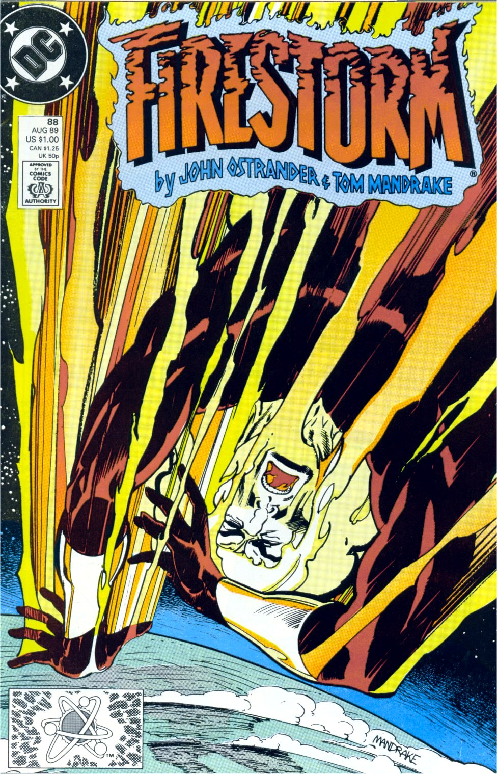 Firestorm, the Nuclear Man 88 Page 1