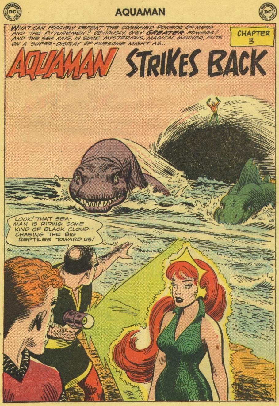 Read online Aquaman (1962) comic -  Issue #13 - 24