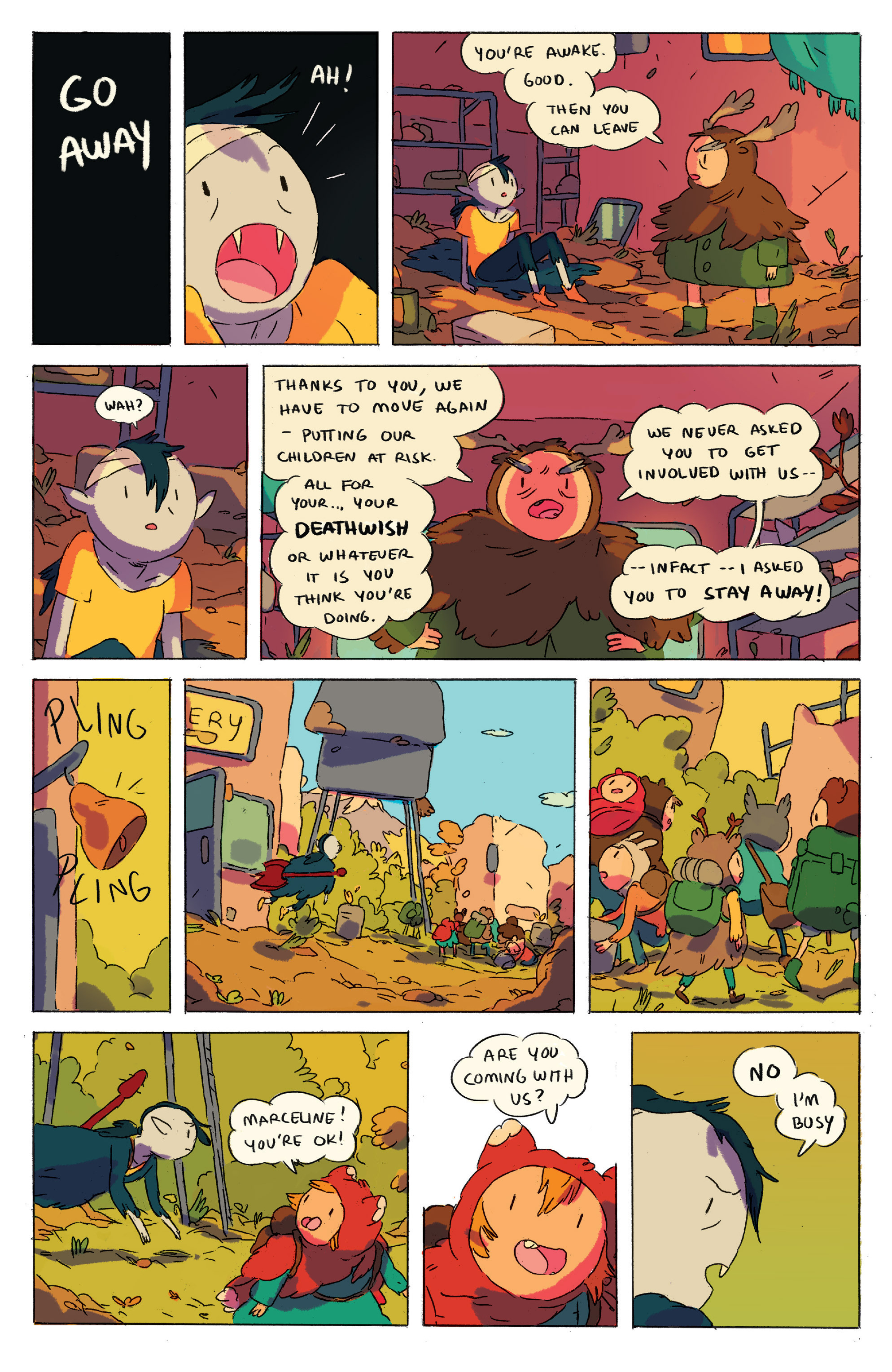 Read online Adventure Time comic -  Issue # _2015 Spoooktacular - 21