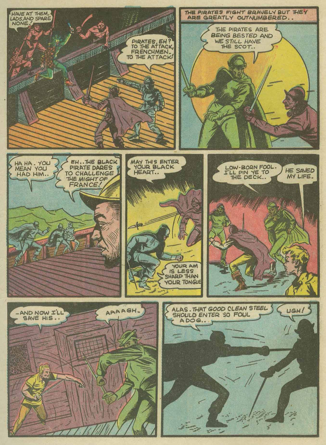 Read online Sensation (Mystery) Comics comic -  Issue #9 - 23