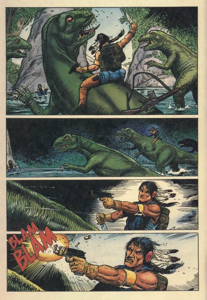 Read online Turok, Dinosaur Hunter (1993) comic -  Issue #8 - 9