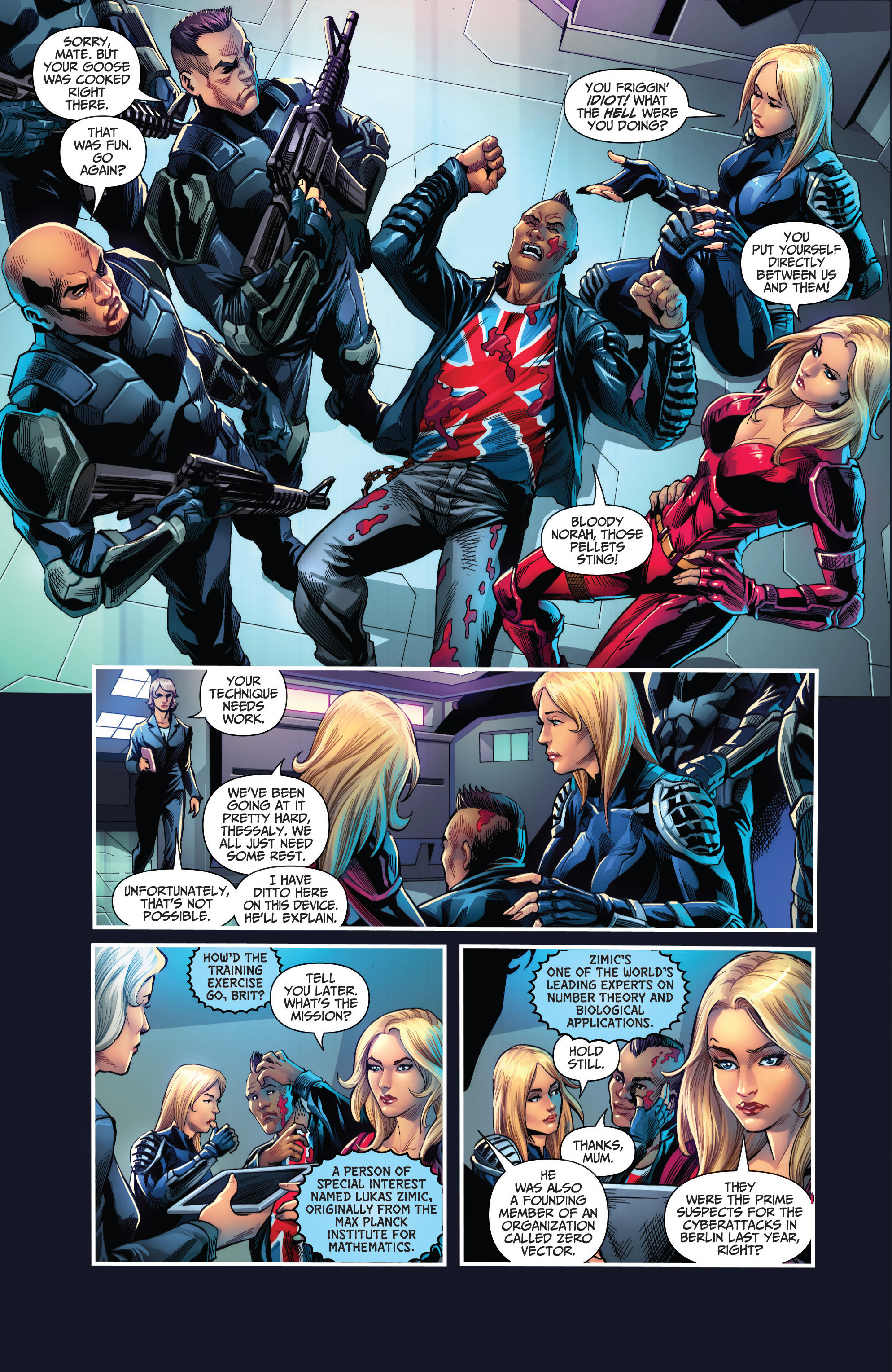 Read online Grimm Fairy Tales presents Red Agent: The Human Order comic -  Issue #6 - 8