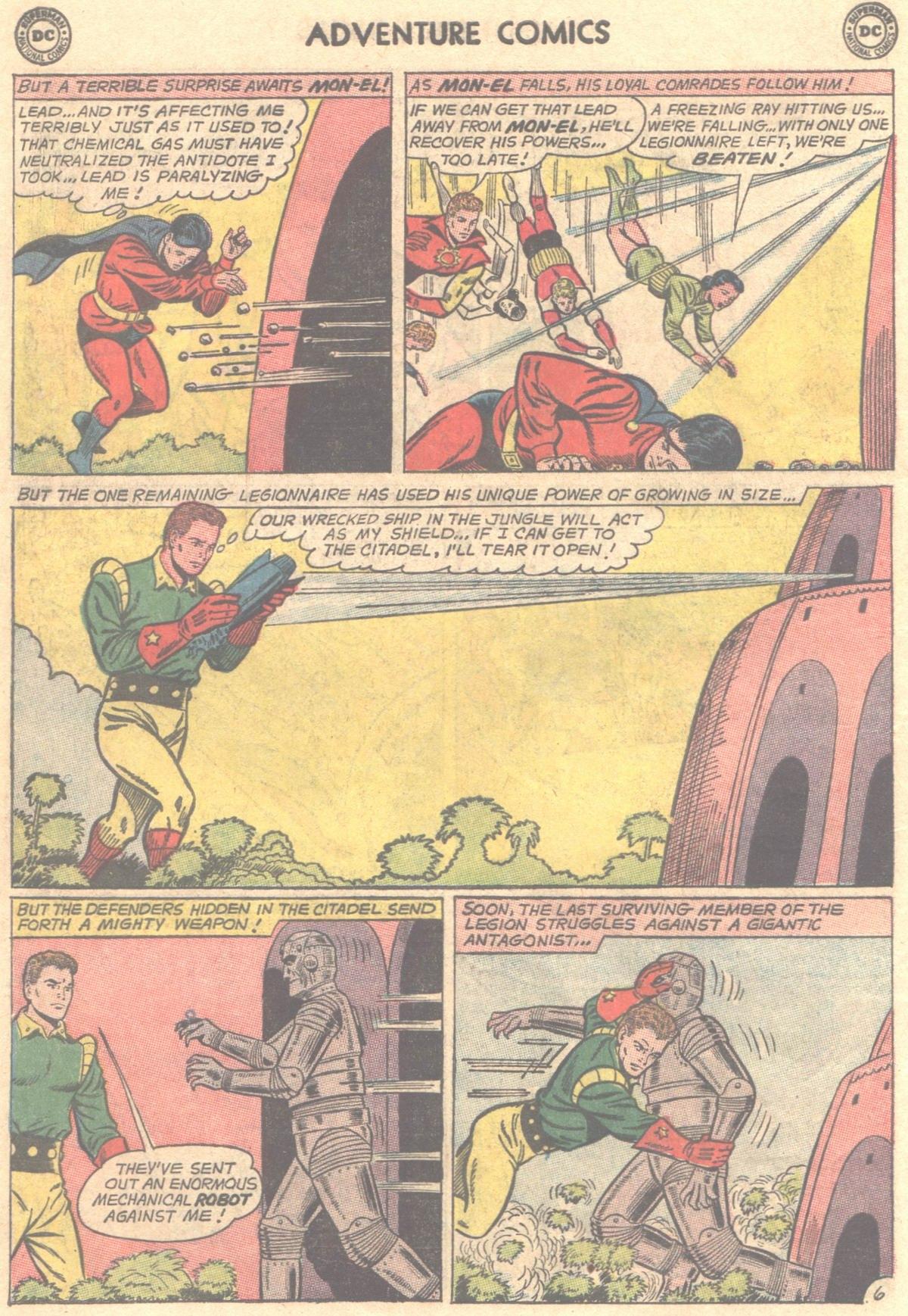 Read online Adventure Comics (1938) comic -  Issue #319 - 19