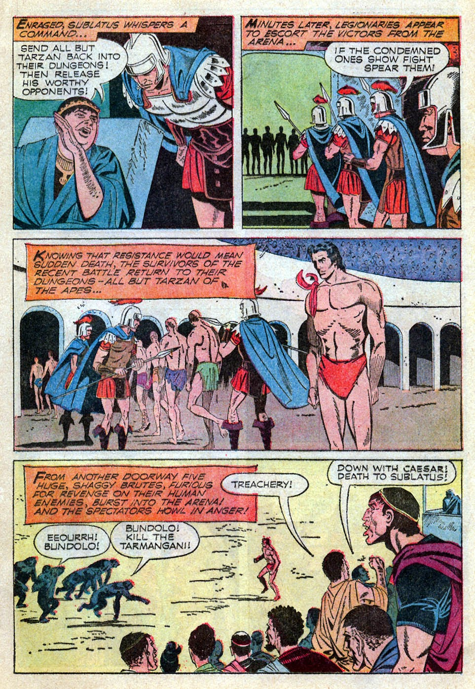 Tarzan (1962) issue 195 - Page 13