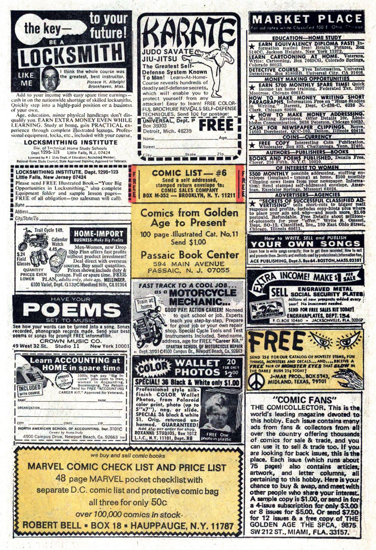 Read online Amazing Adventures (1970) comic -  Issue #22 - 20