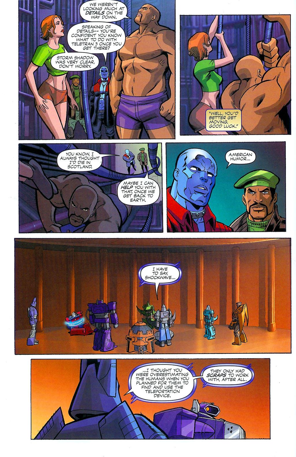 G.I. Joe vs. The Transformers II Issue #4 #5 - English 6
