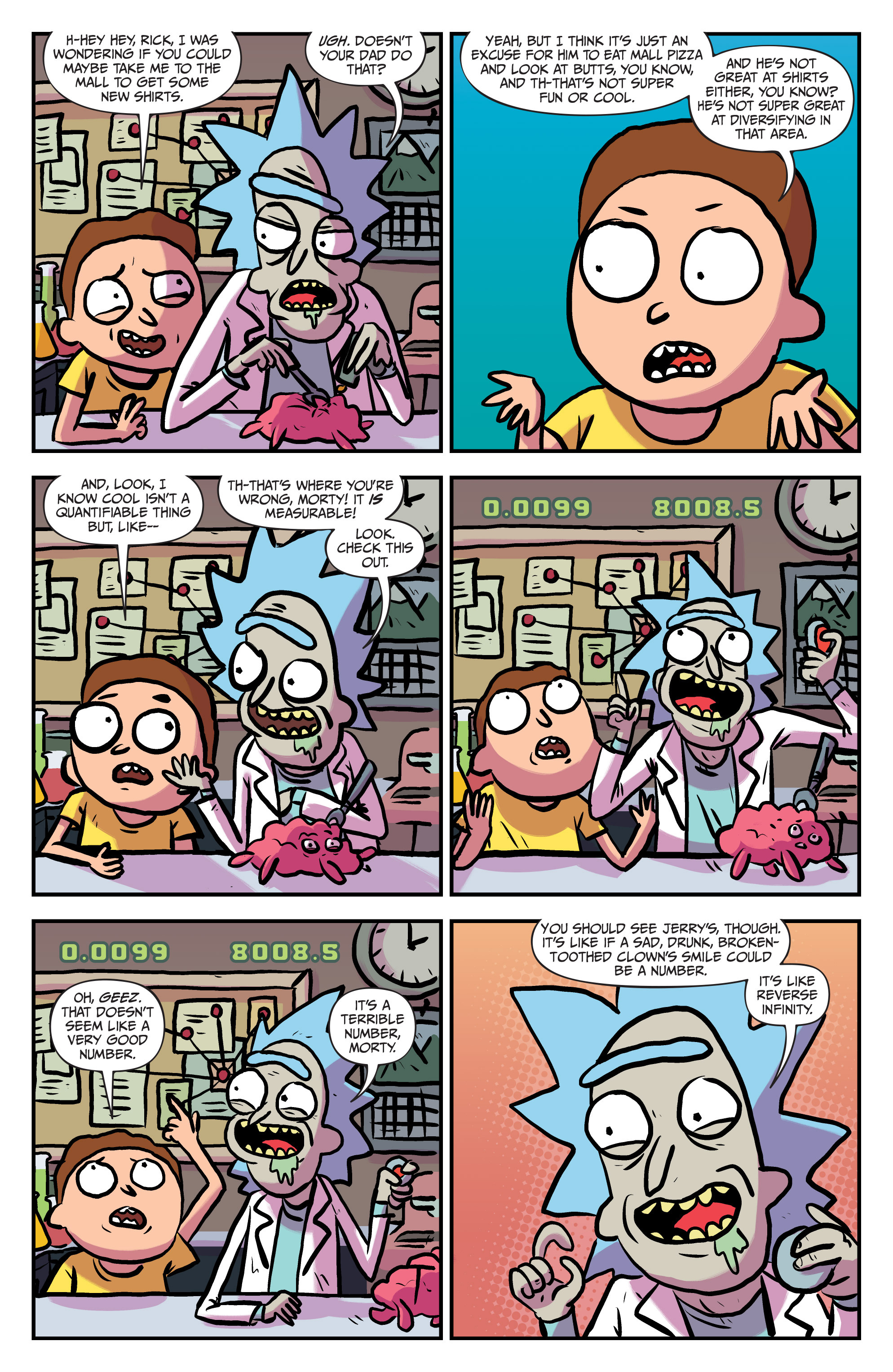 Read online Rick and Morty comic -  Issue #25 - 3