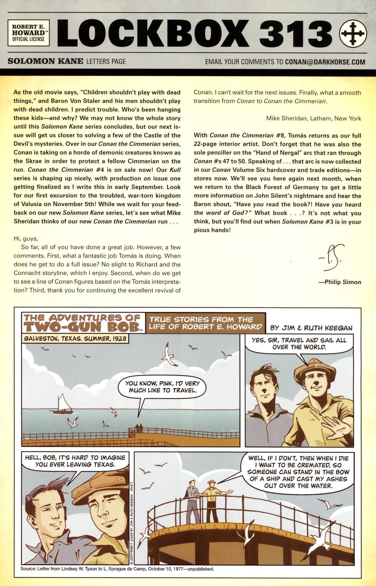 Read online Solomon Kane comic -  Issue #2 - 25