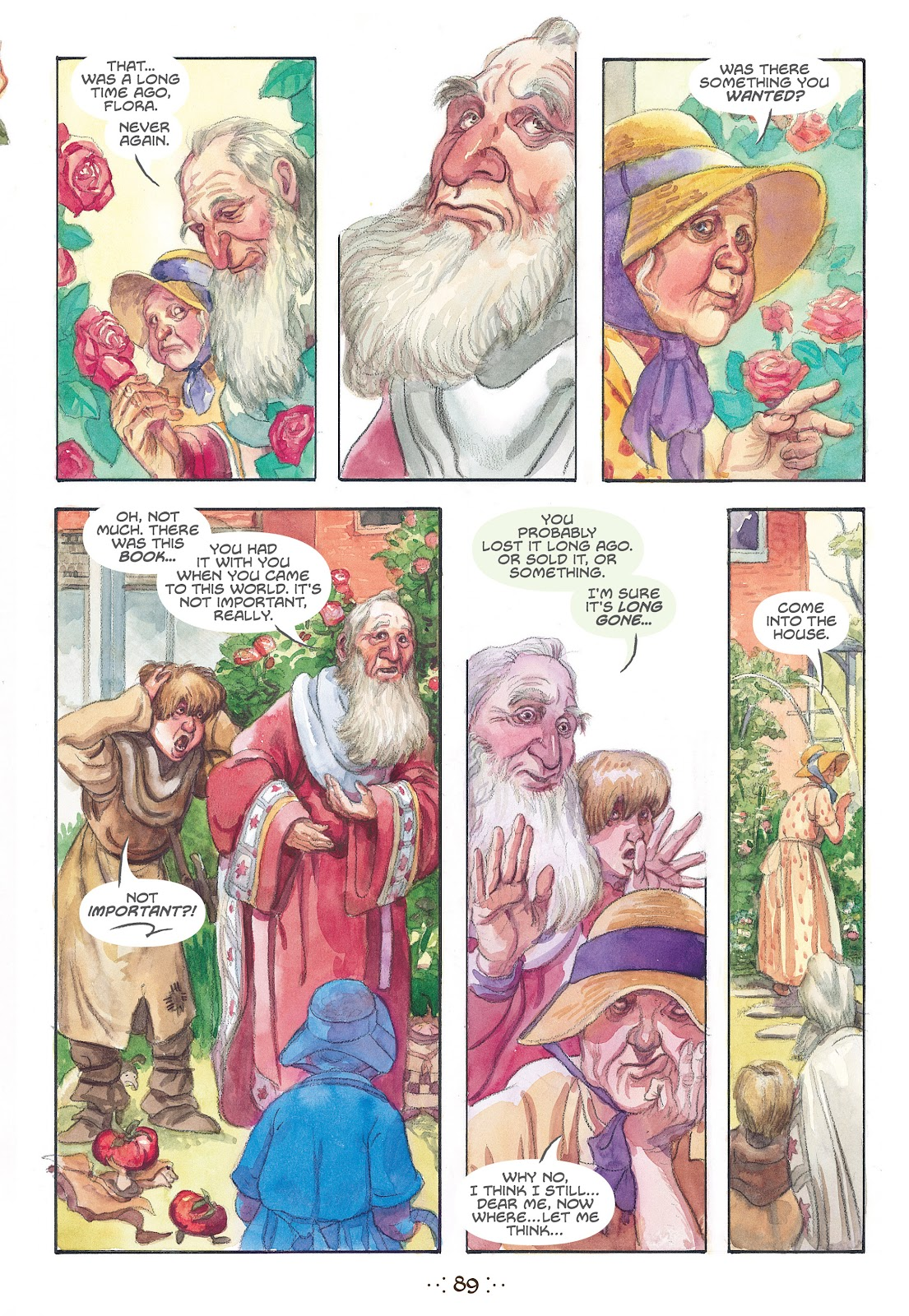 Read online The Wizard's Tale comic -  Issue # TPB - 85