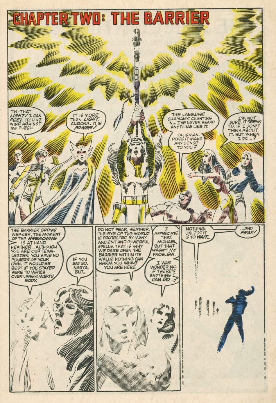 Read online Alpha Flight (1983) comic -  Issue #24 - 8