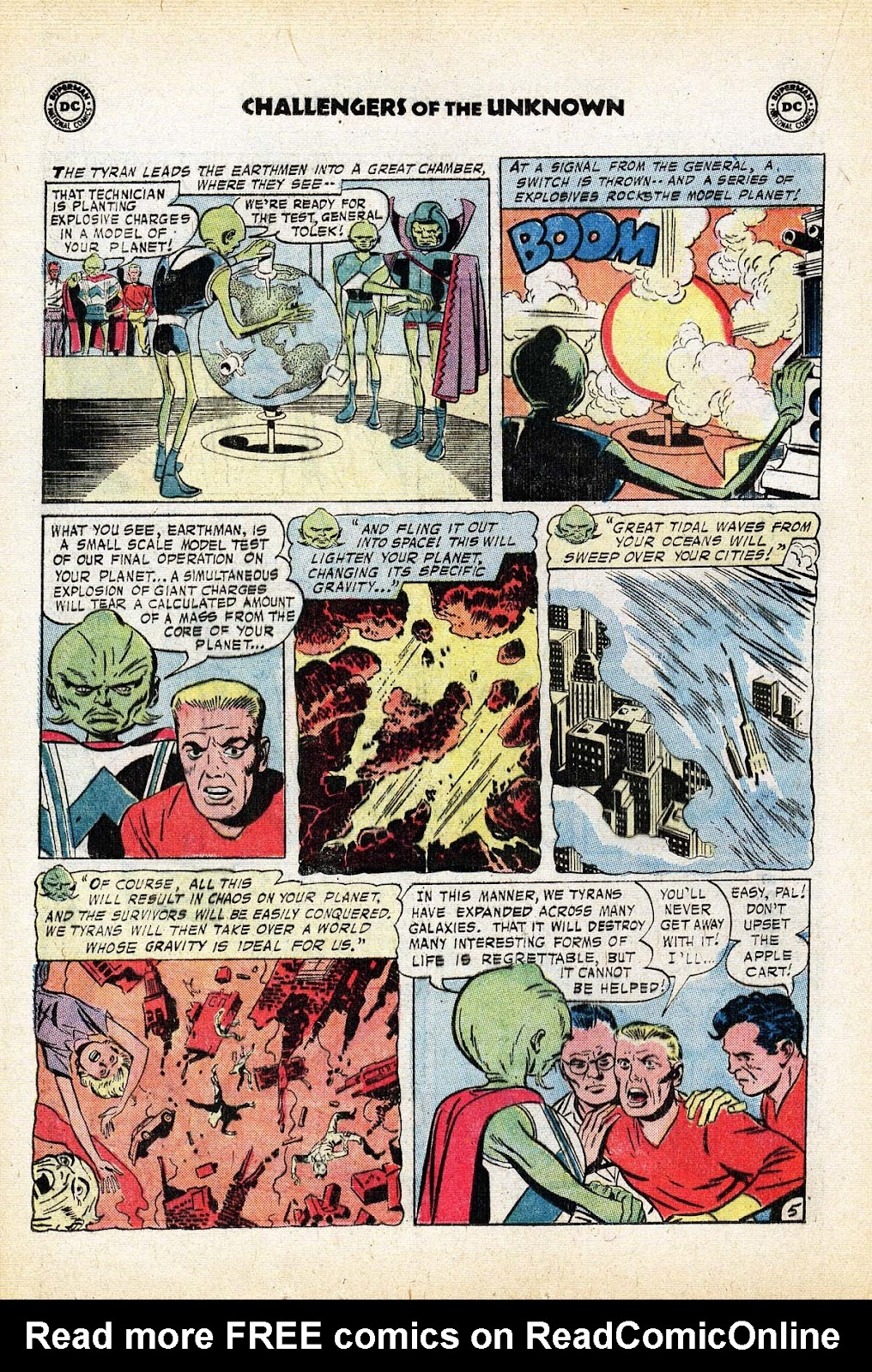 Challengers of the Unknown (1958) issue 80 - Page 16