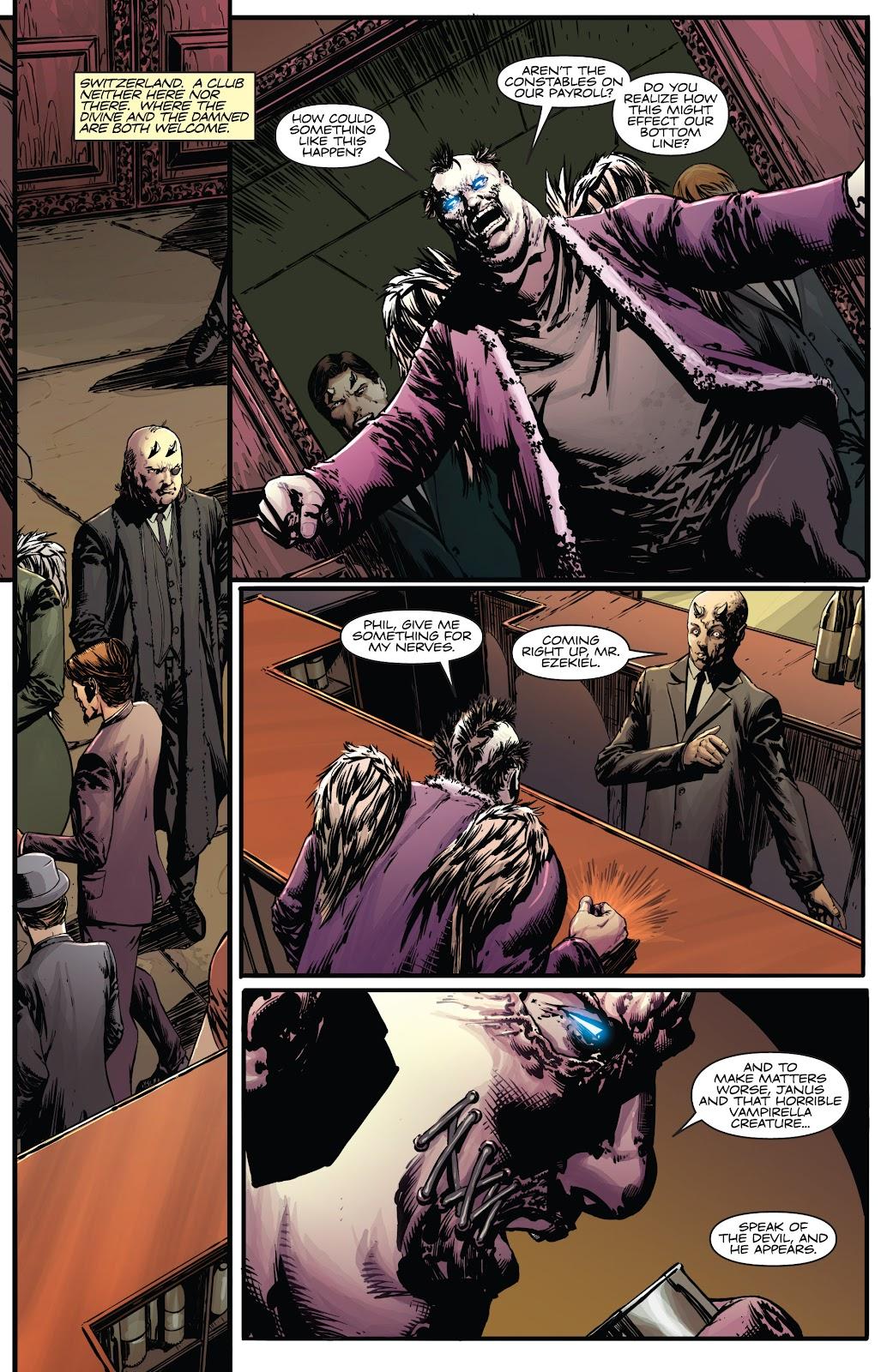Read online Vampirella Strikes comic -  Issue #5 - 9