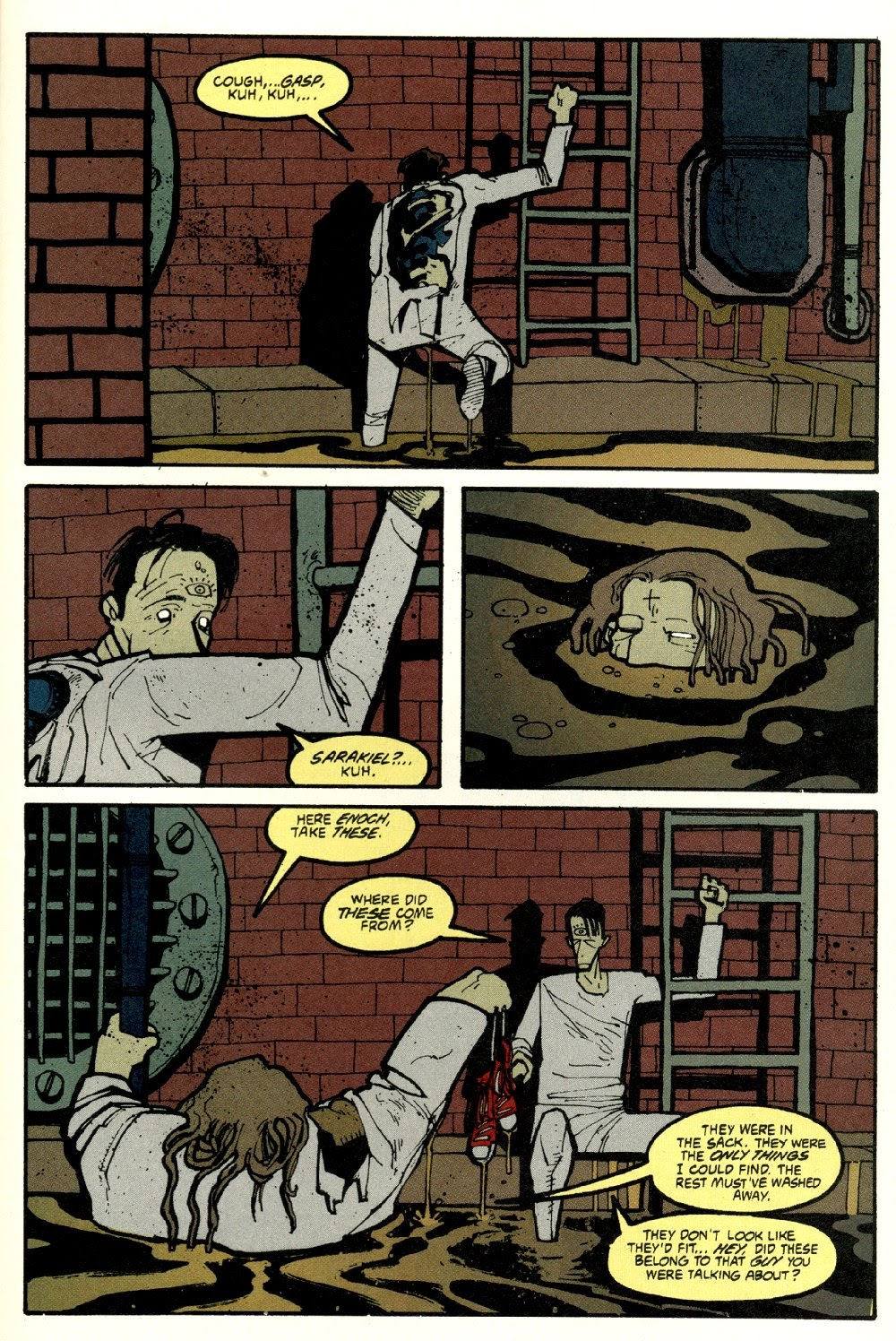 Read online Ted McKeever's Metropol comic -  Issue #8 - 25