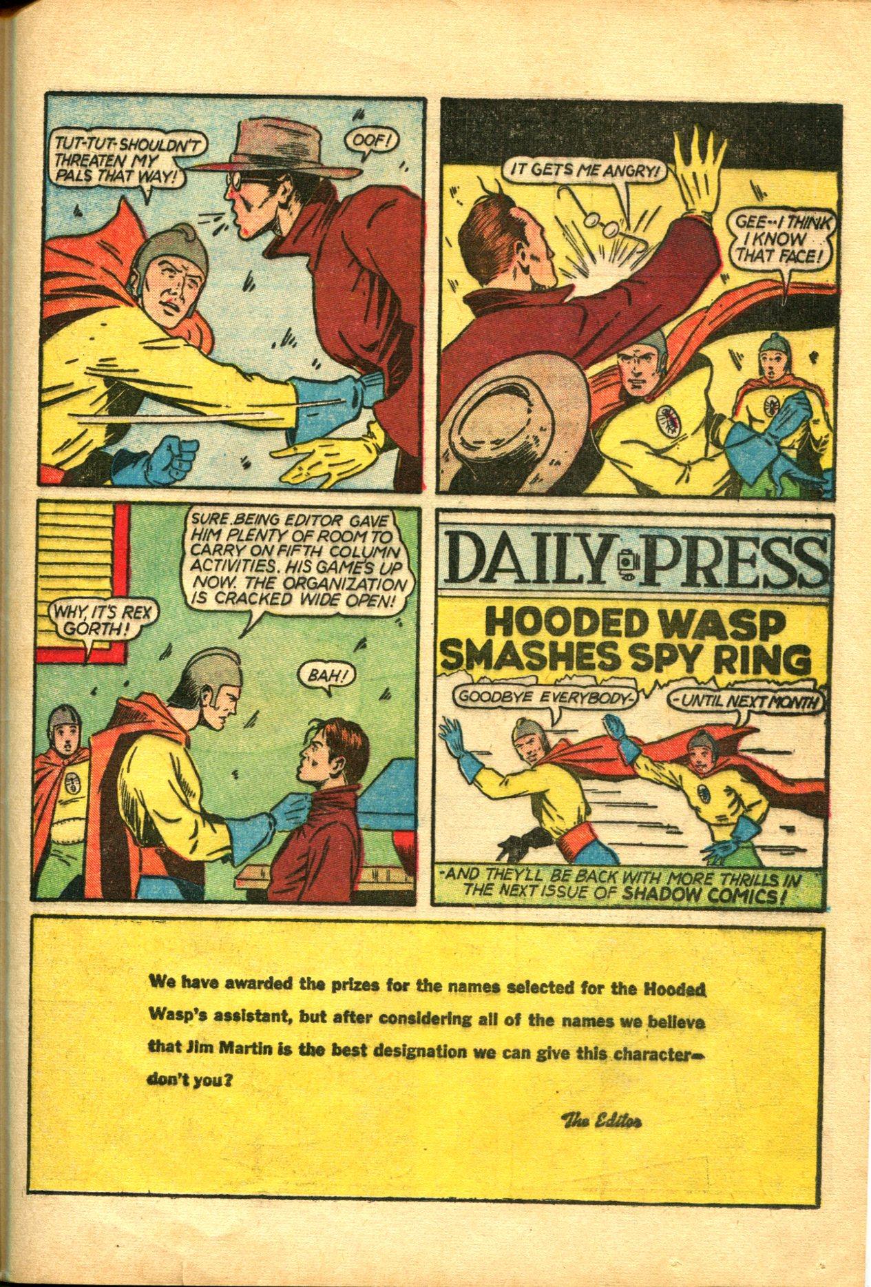 Read online Shadow Comics comic -  Issue #10 - 49
